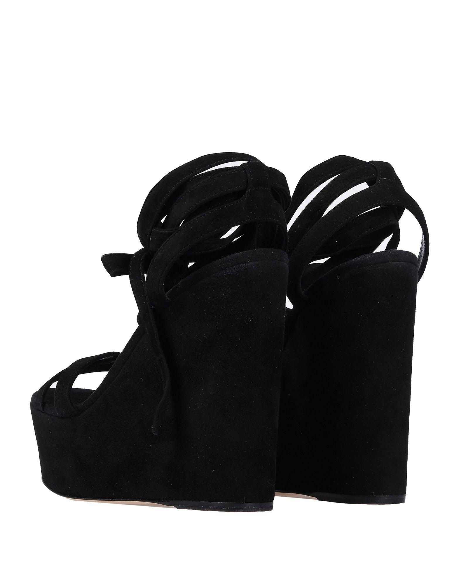 abc78781e3b93 Lyst - Gianvito Rossi Sandals in Black