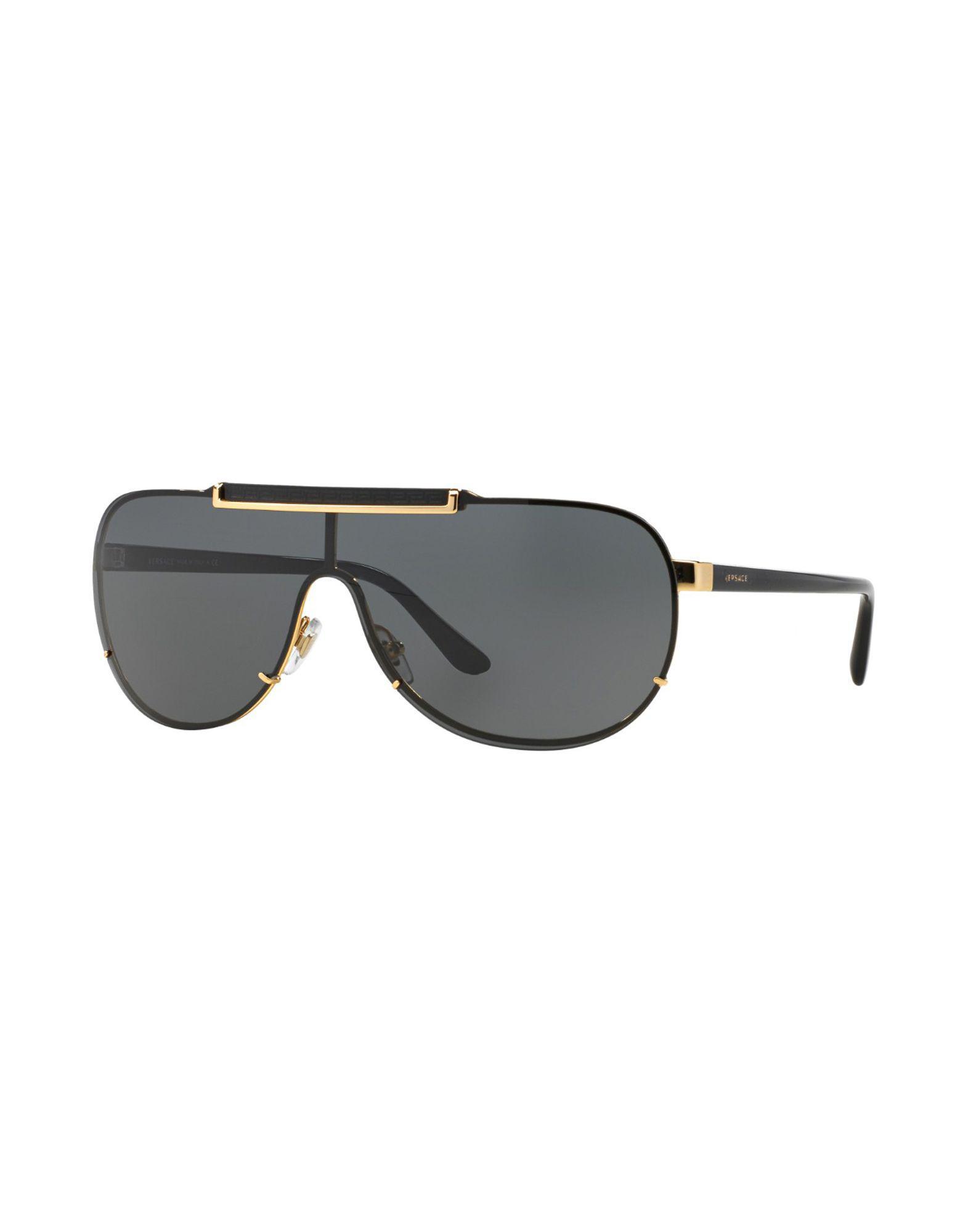 Lyst - Lunettes de soleil Versace pour homme en coloris Métallisé 0e041c8e085e