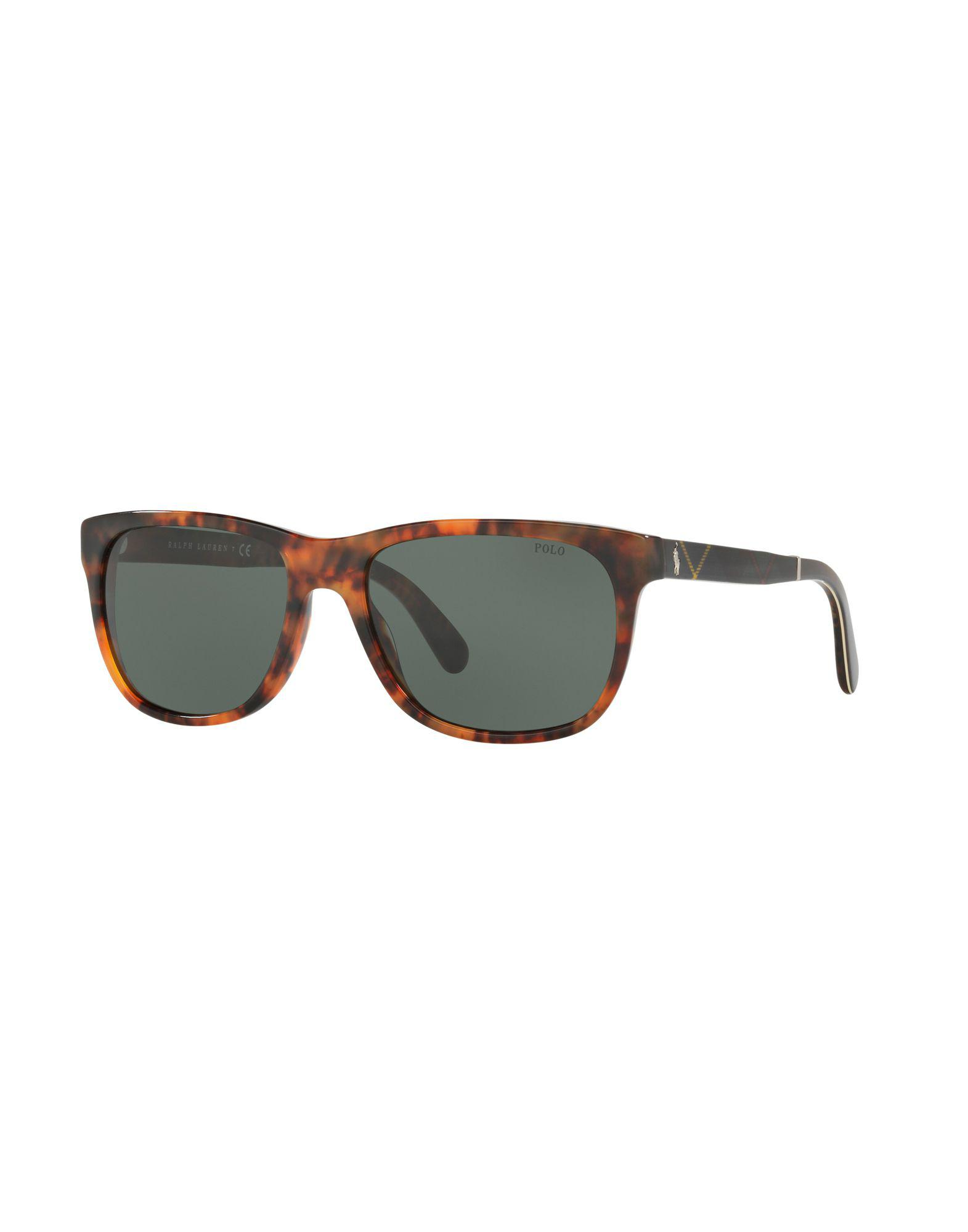2494cfaf11f Polo Ralph Lauren Sunglasses in Gray - Lyst