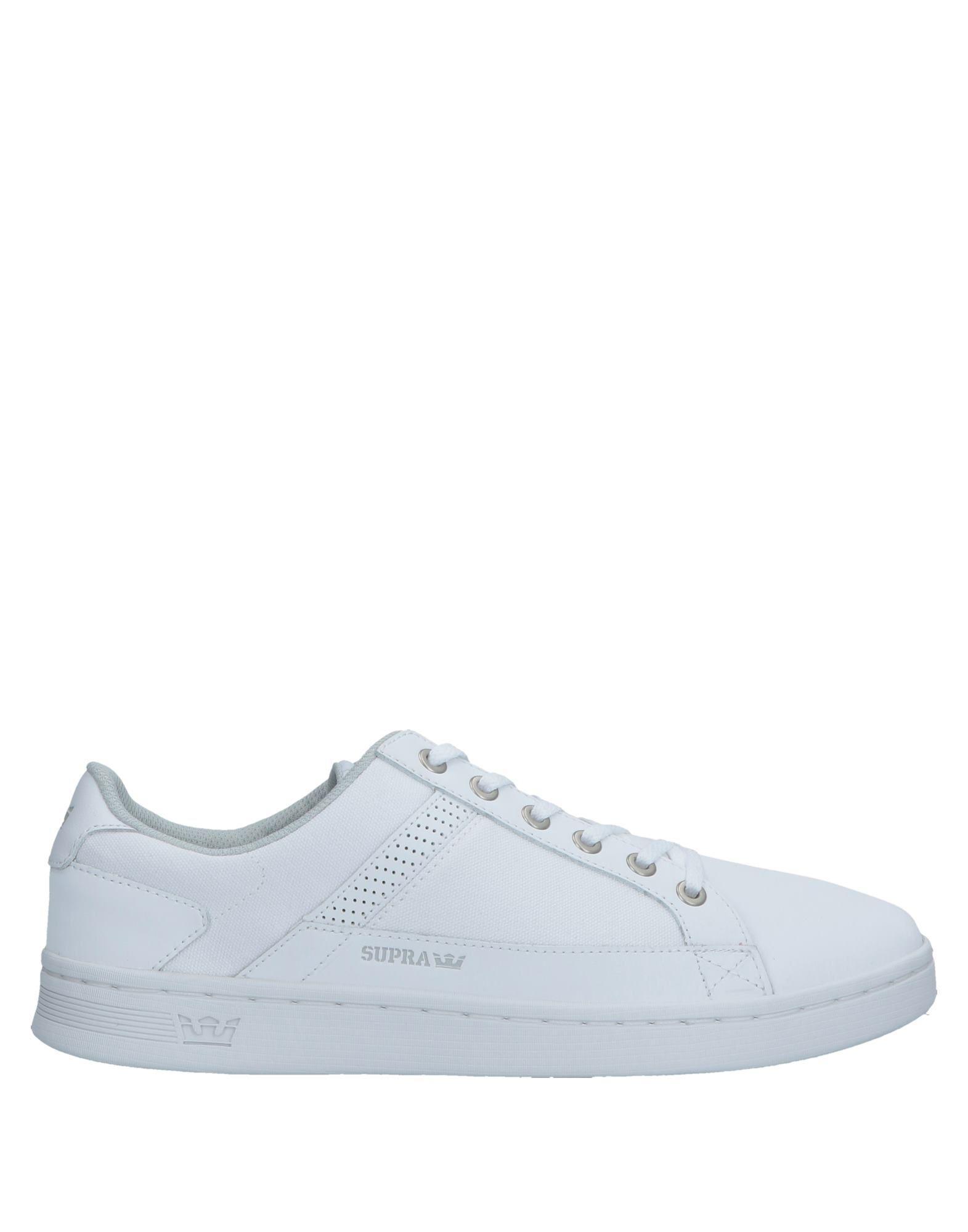 bf209377d4 Supra - White Low-tops & Sneakers for Men - Lyst. View fullscreen