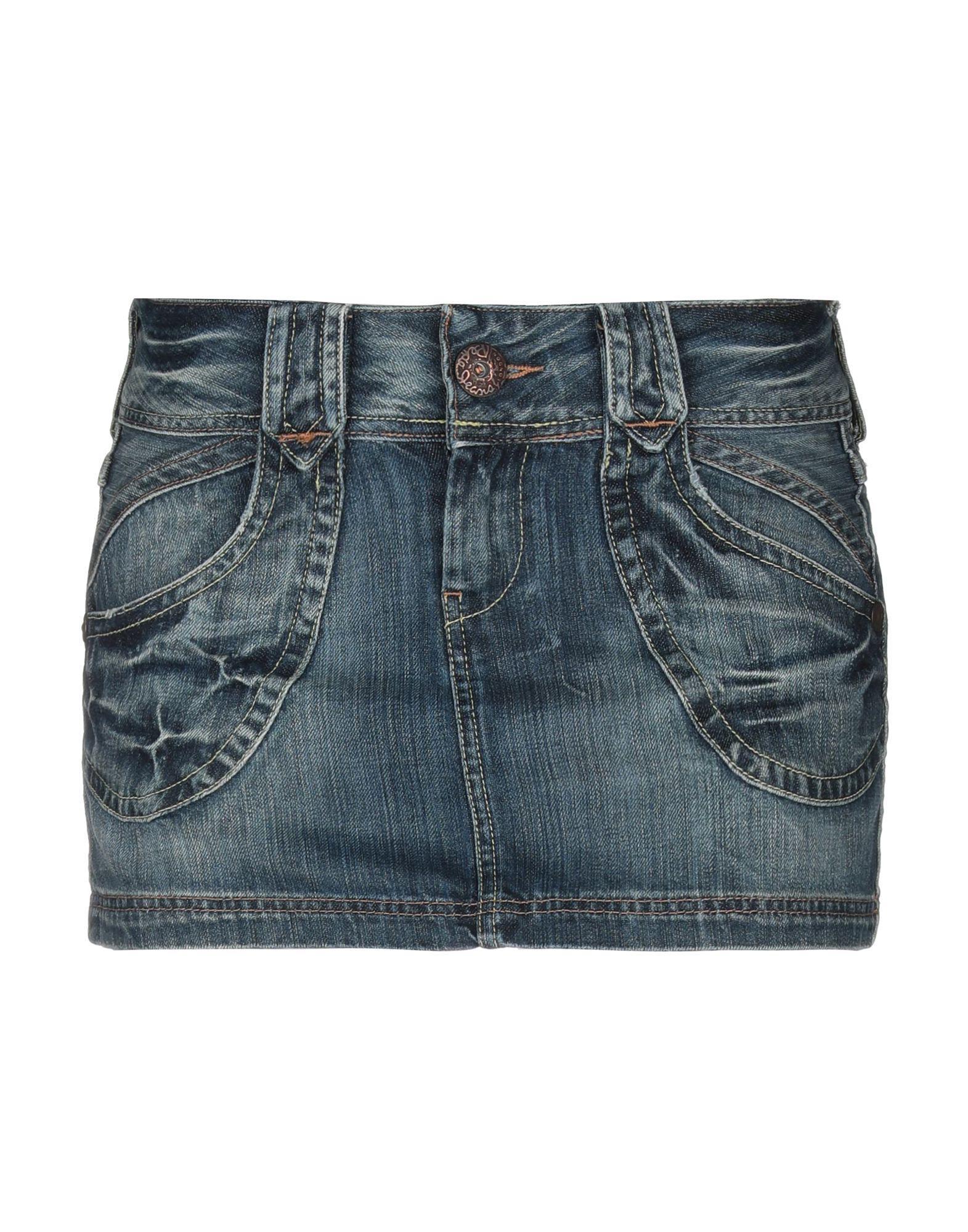 6fe9b66487 Pepe Jeans Denim Skirts in Blue - Lyst