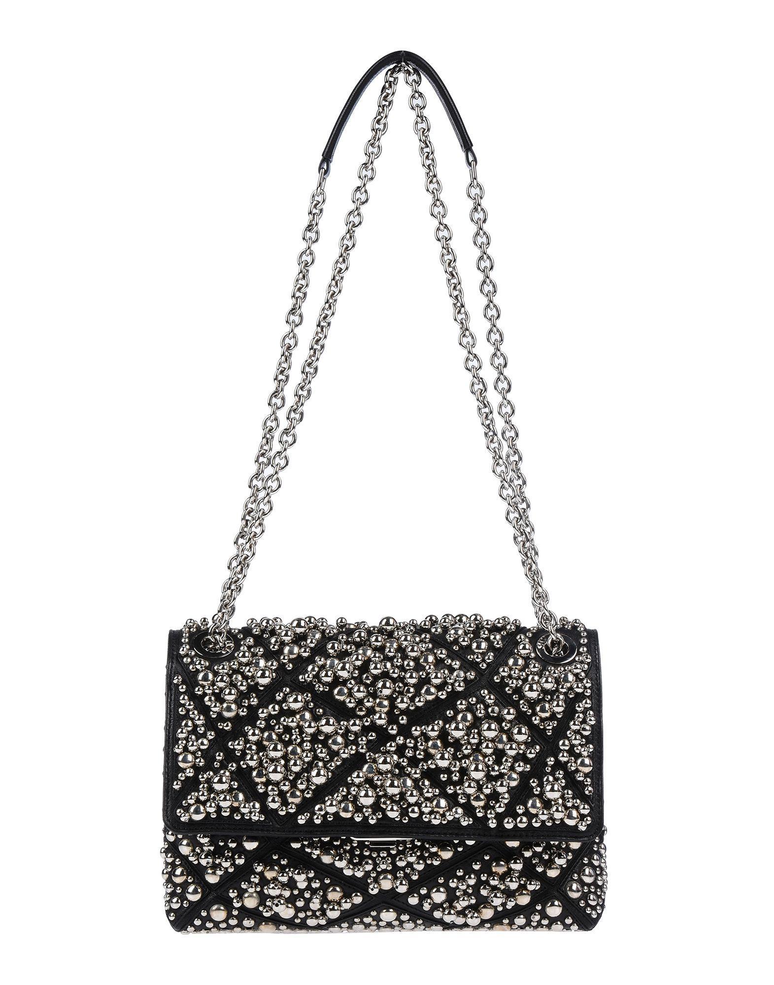 Lyst - Roger Vivier Cross-body Bag in Black e04eb2203e8ad