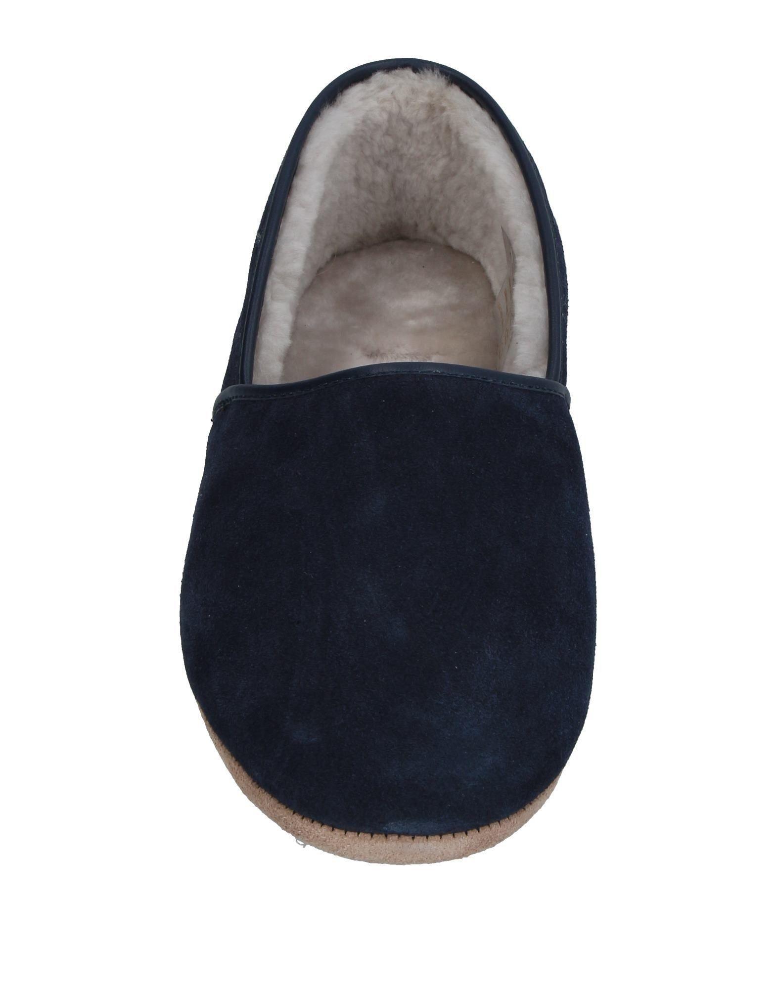Lyst Derek Rose Slippers In Blue For Men