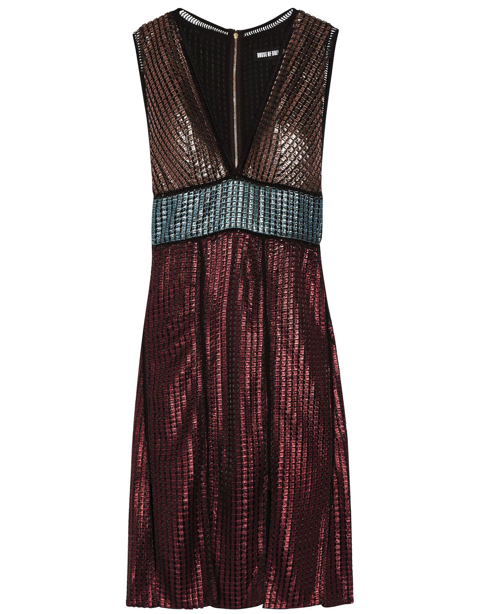 House of Holland Knee-length Dress - Lyst dceffe820