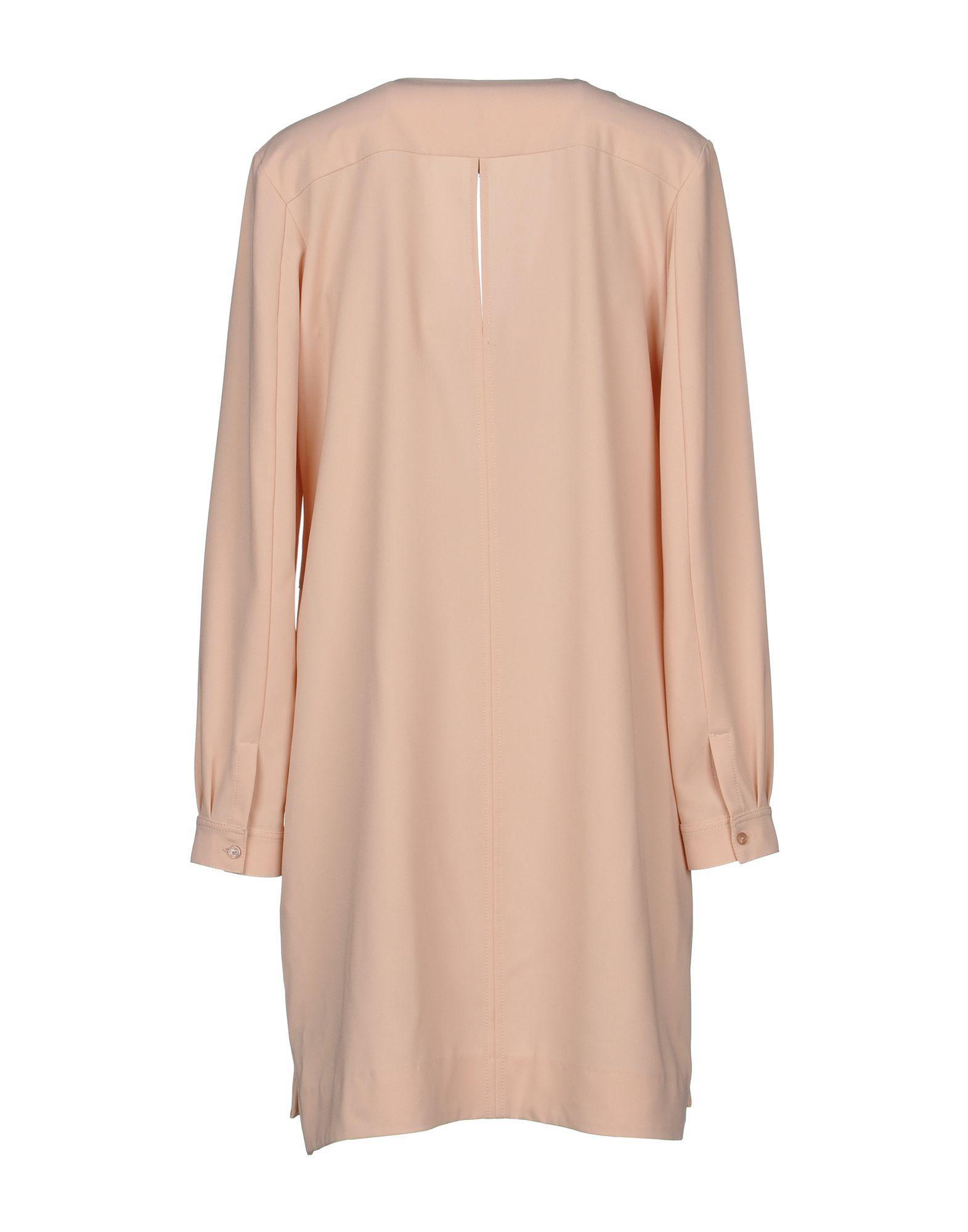 72e3e4f39f63c Manila Grace Short Dress in Pink - Lyst