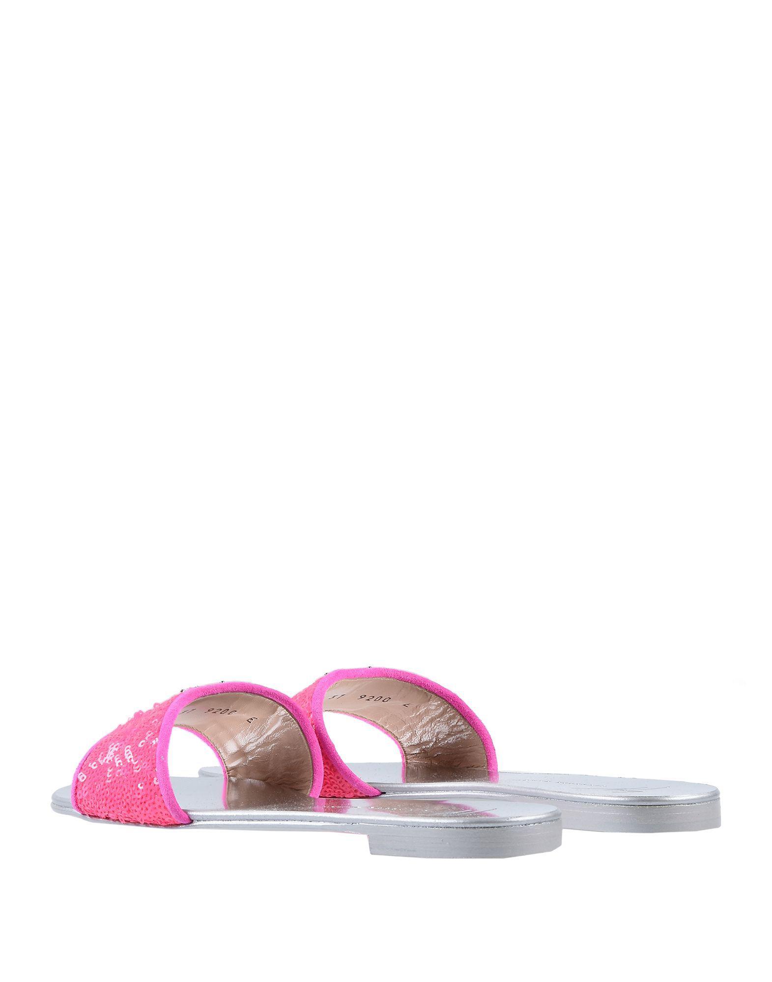 281a96d849f085 Lyst - Giuseppe Zanotti Sandals in Pink