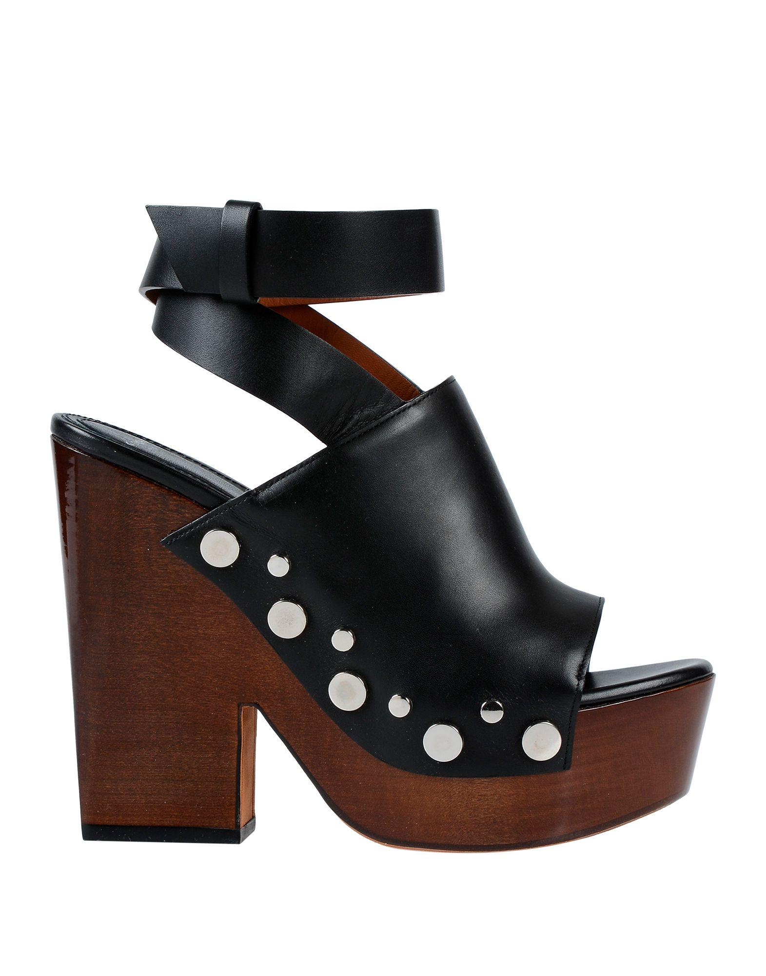 bf81e650c35 Lyst - Givenchy Sandals in Black