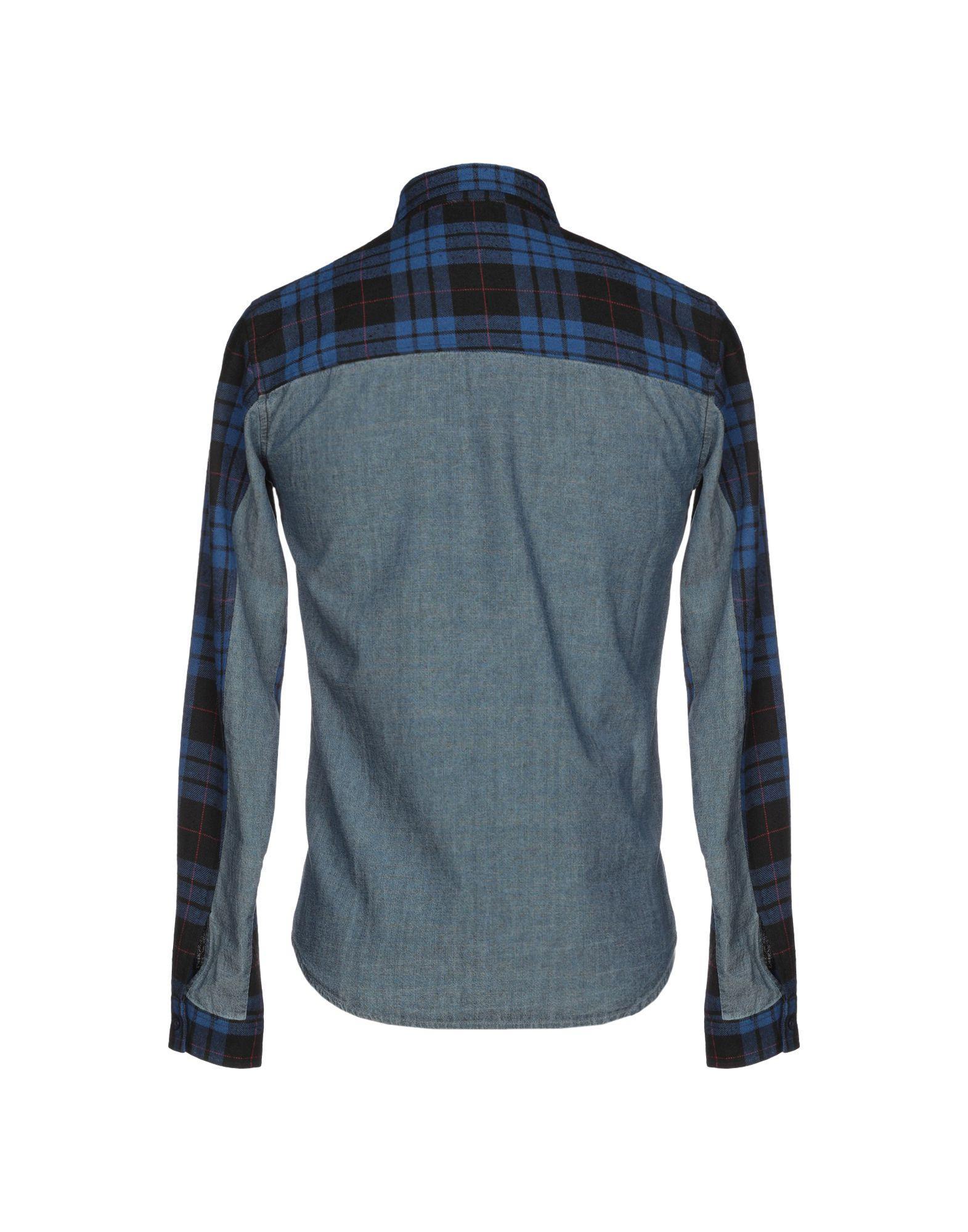 aef206184d Lyst - Supremebeing Denim Shirt in Blue for Men