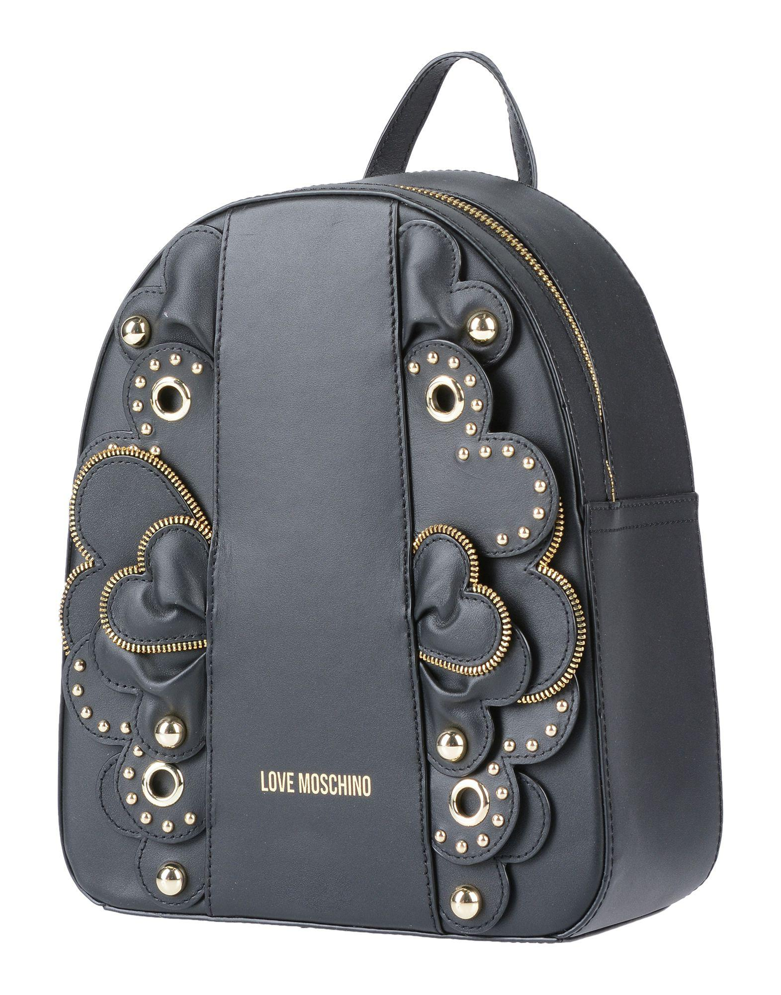 d0bfff74d0e91 Love Moschino - Black Backpacks   Fanny Packs - Lyst. View fullscreen