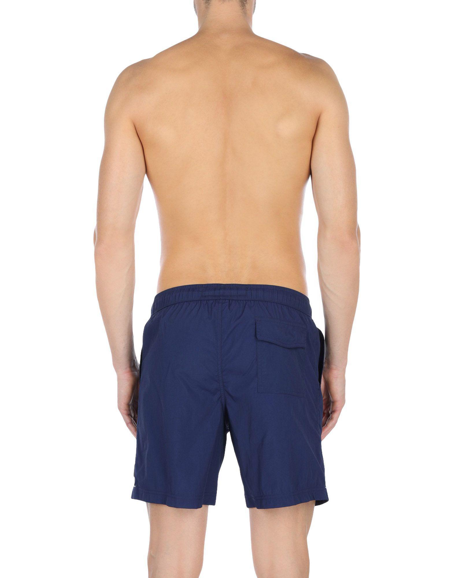 c3c15752f7 Ermenegildo Zegna Swim Trunks in Blue for Men - Lyst