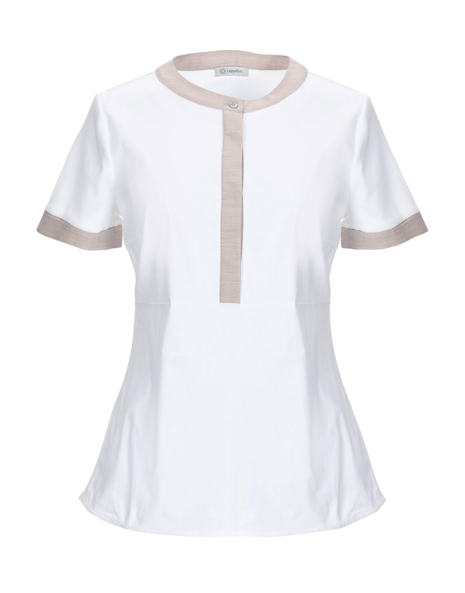 9d11f0b9265a6 Lyst - Cappellini By Peserico Shirt in White