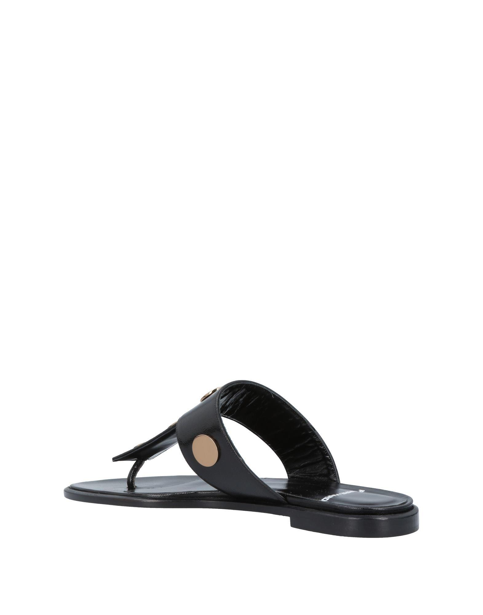 a5b2be6455195f Lyst - Pierre Hardy Women s Ml15black Black Leather Sandals in Black - Save  68%