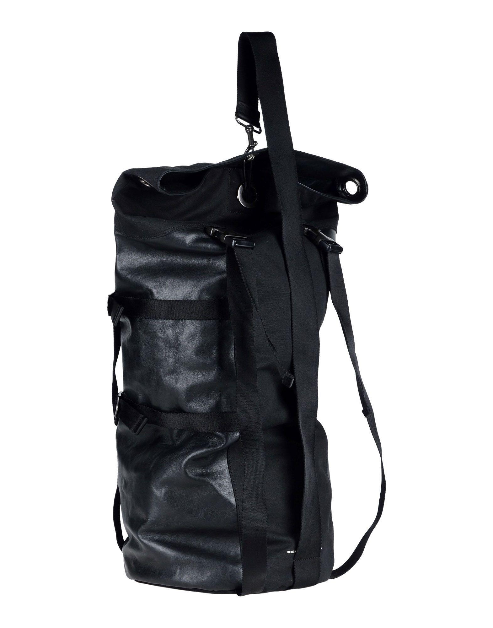 caf41ad5661d Lyst - Diesel Black Gold Backpacks   Bum Bags in Black for Men