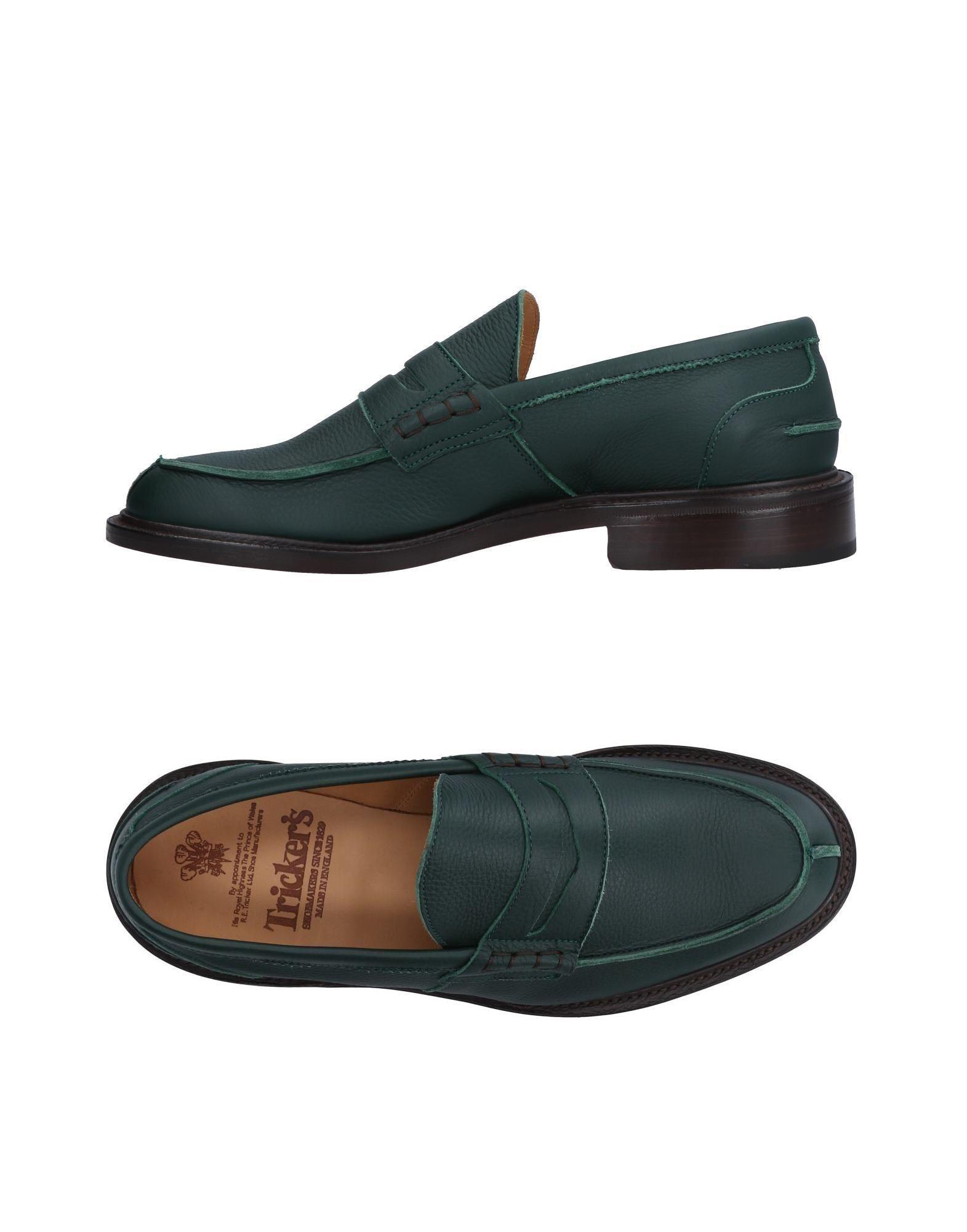aa22900f5d60bb Tricker's - Green Loafer for Men - Lyst. View fullscreen