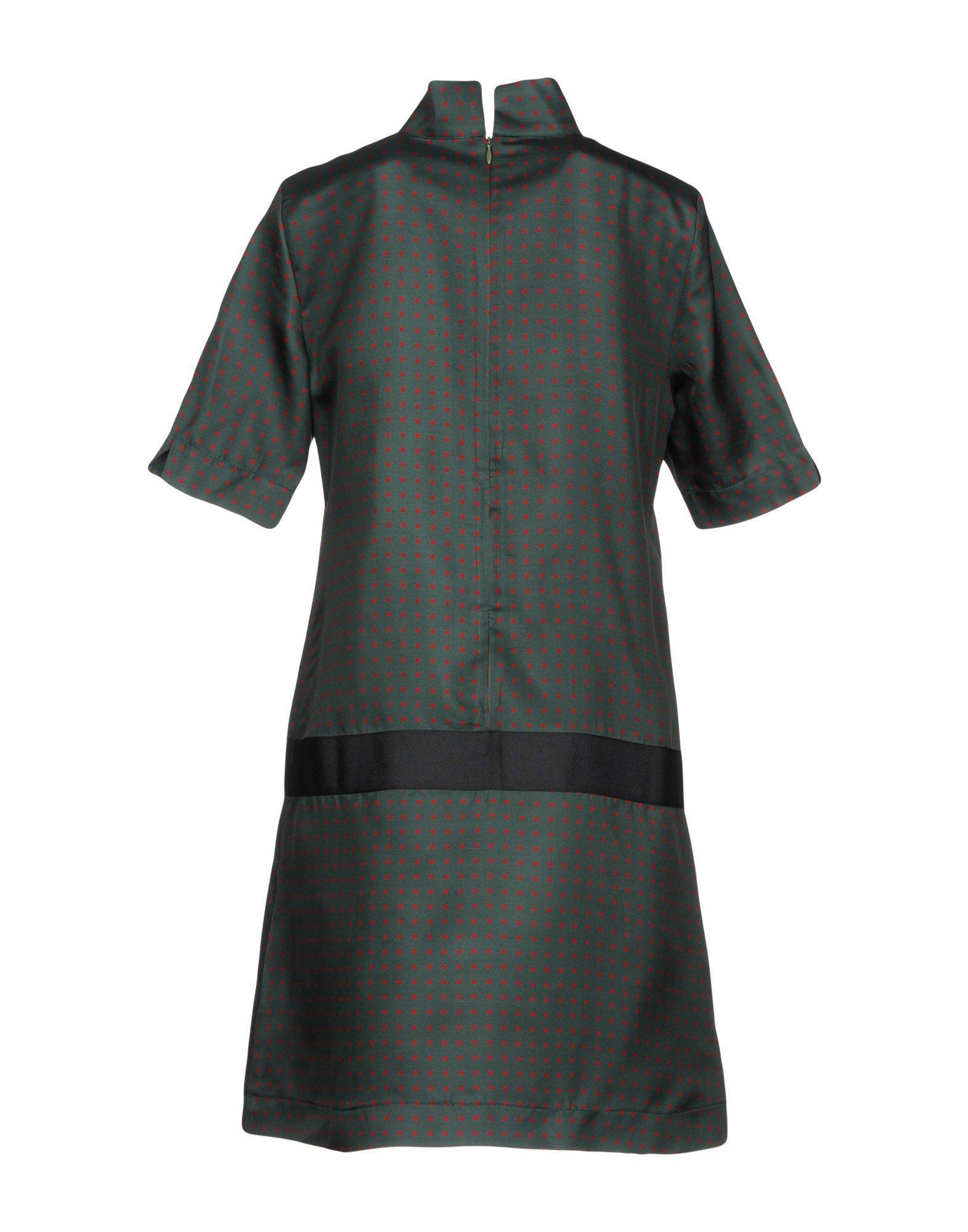 87f397c185e Bini Como Short Dress in Green - Lyst