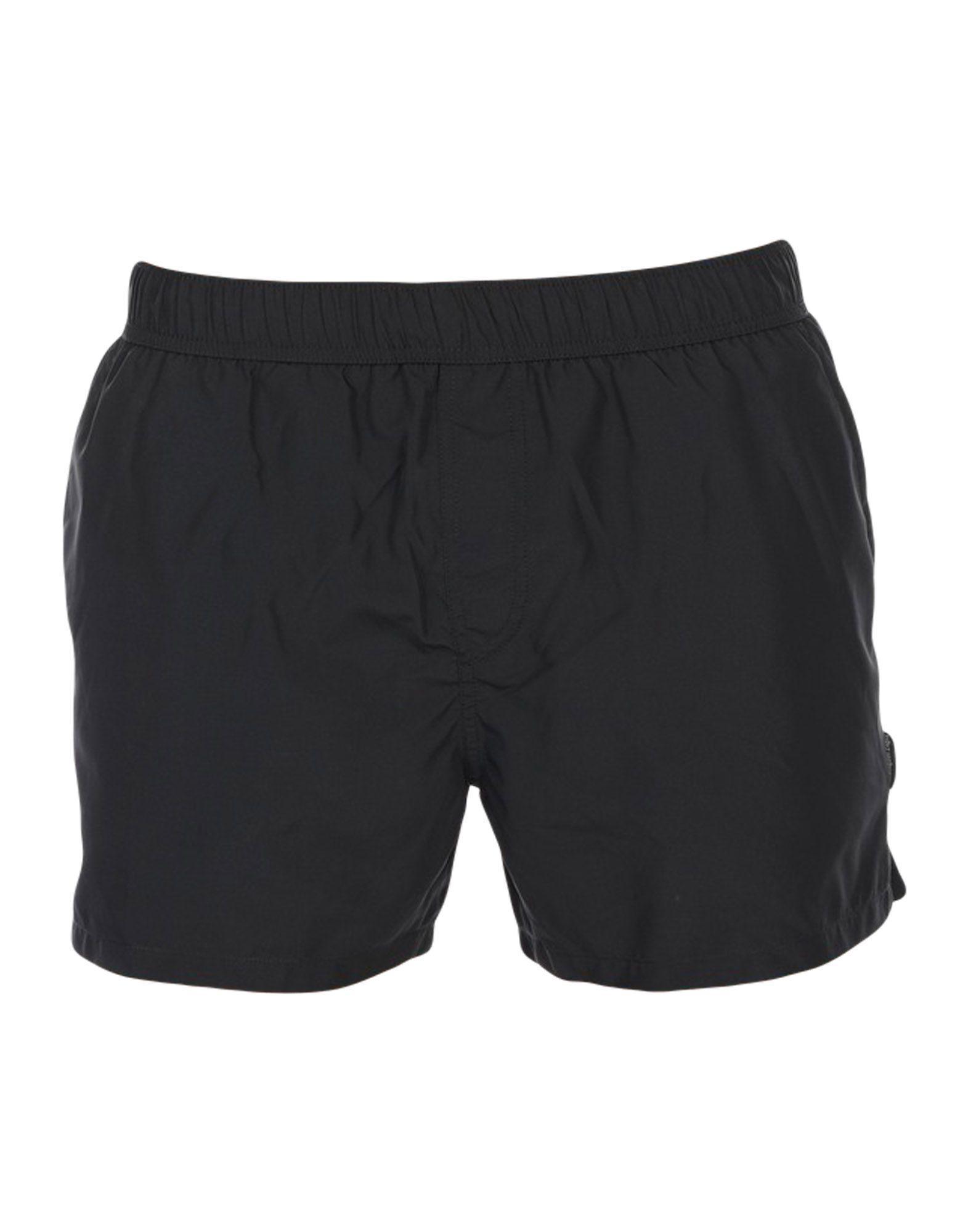 4acdfd9085 Lyst - Ermenegildo Zegna Swim Trunks in Black for Men