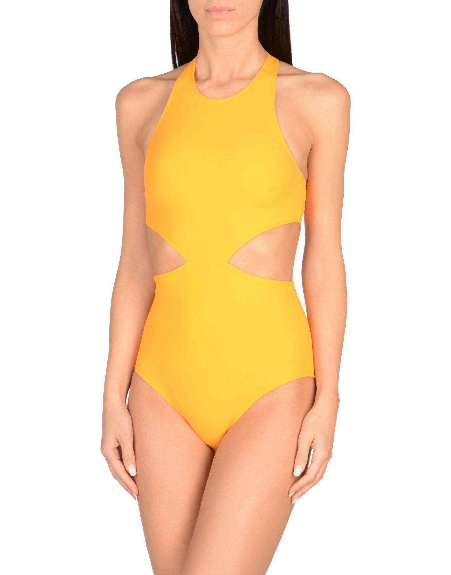 8488b15049 Flagpole Swim One-piece Swimsuit in Orange - Lyst