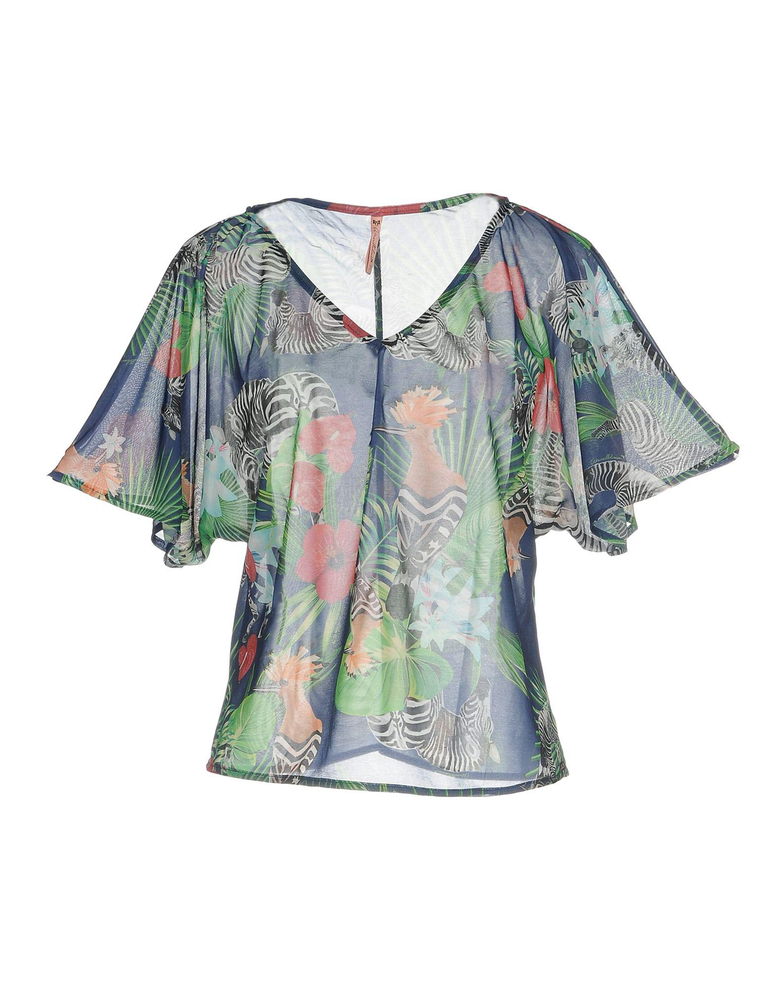 SHIRTS - Blouses Amarillolimon Amazing Price Online Free Shipping Huge Surprise Cheap Price Wholesale Price XCNmy