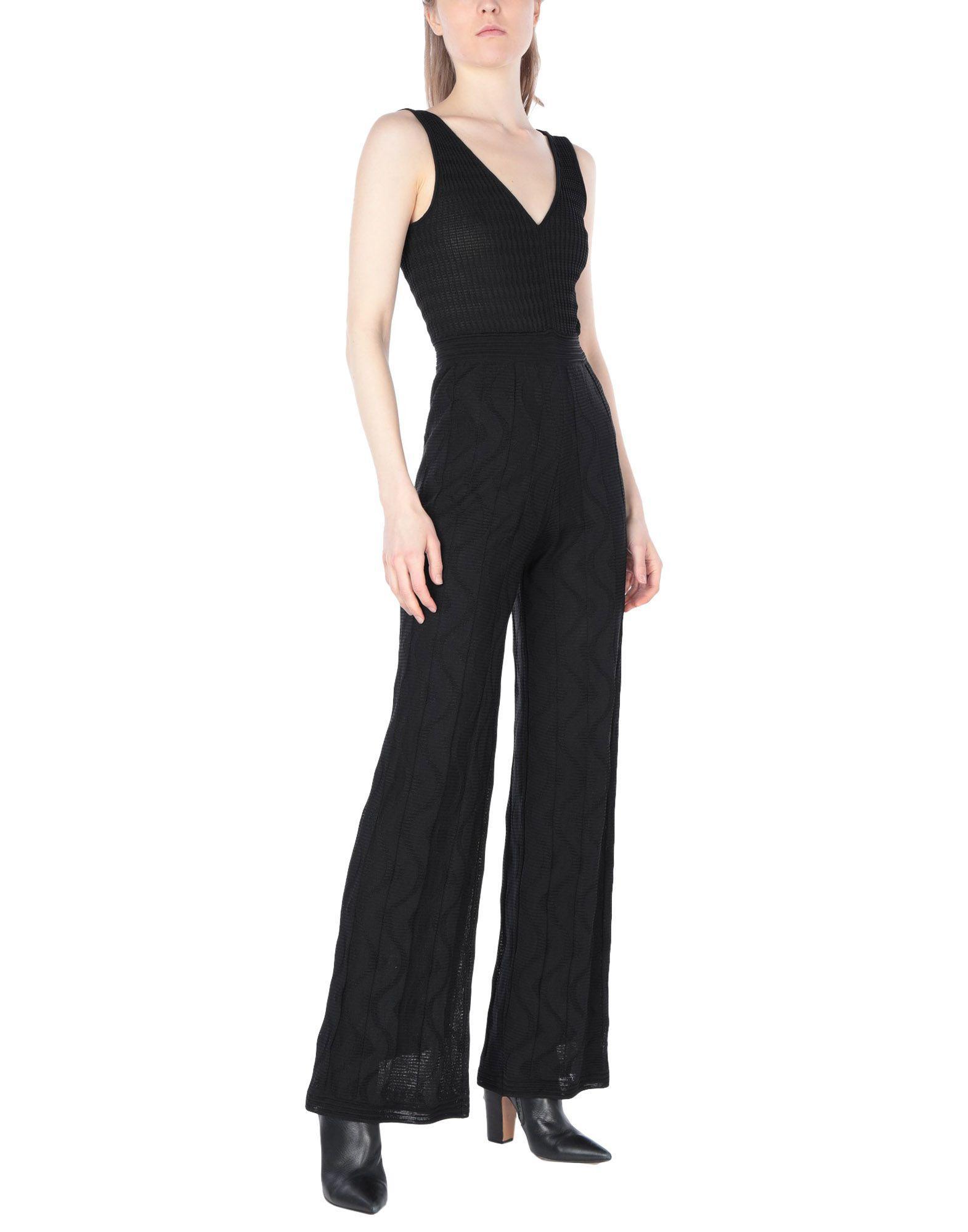 0e963bbb3825 Lyst - M Missoni Jumpsuit in Black