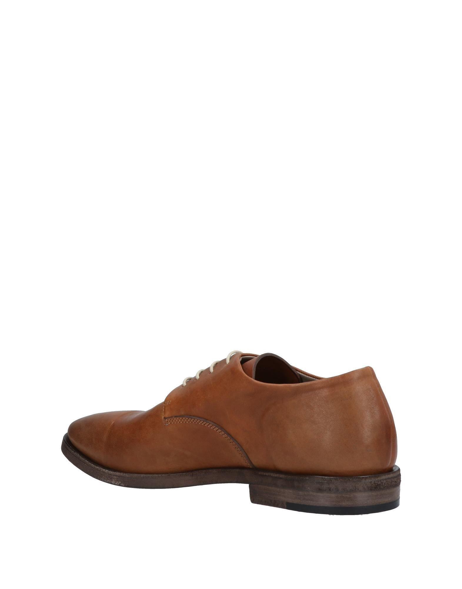 lace up shoes - Brown Del Carlo rscqTtnR