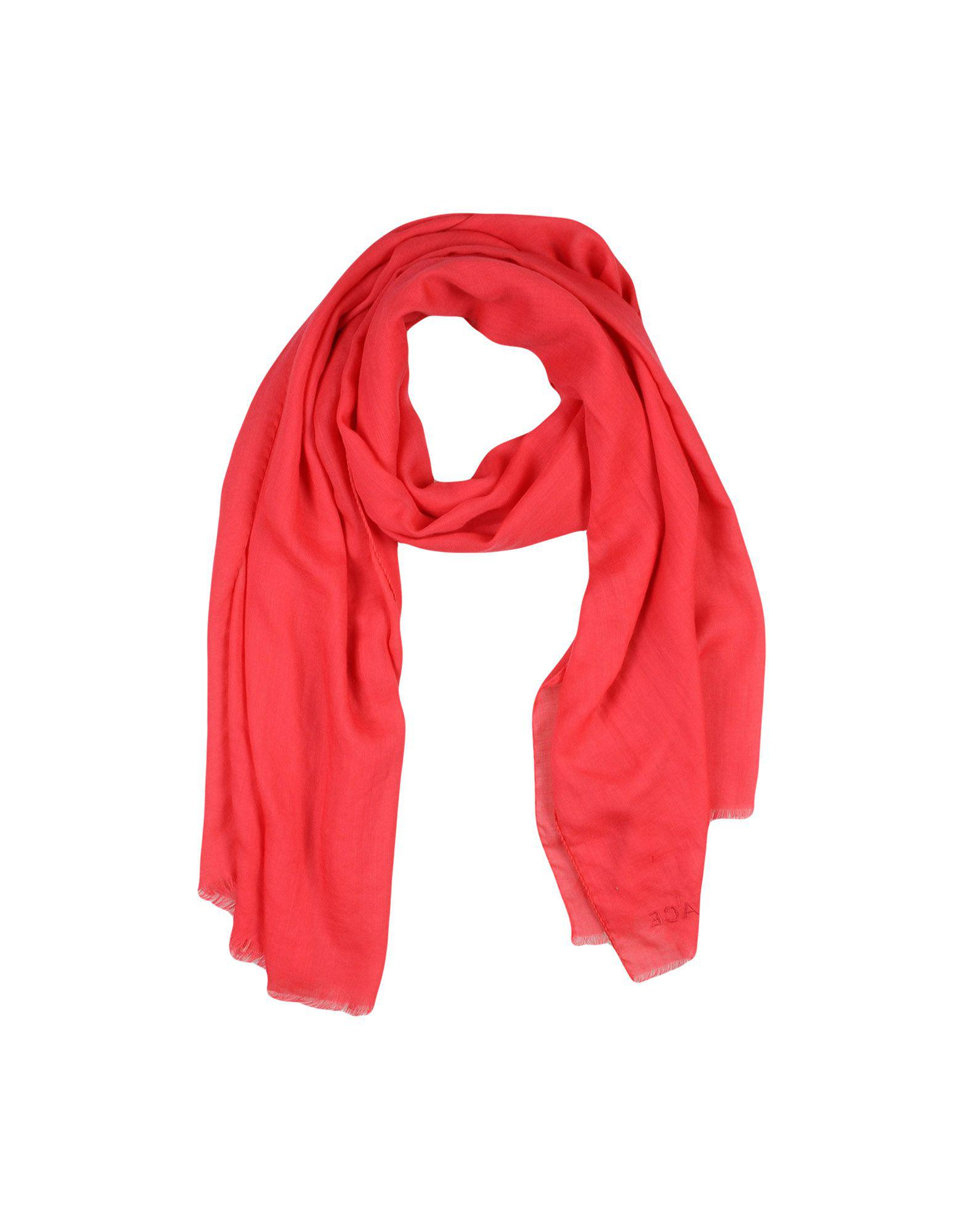 30668fa5e13 Lyst - Étole Versace en coloris Rouge