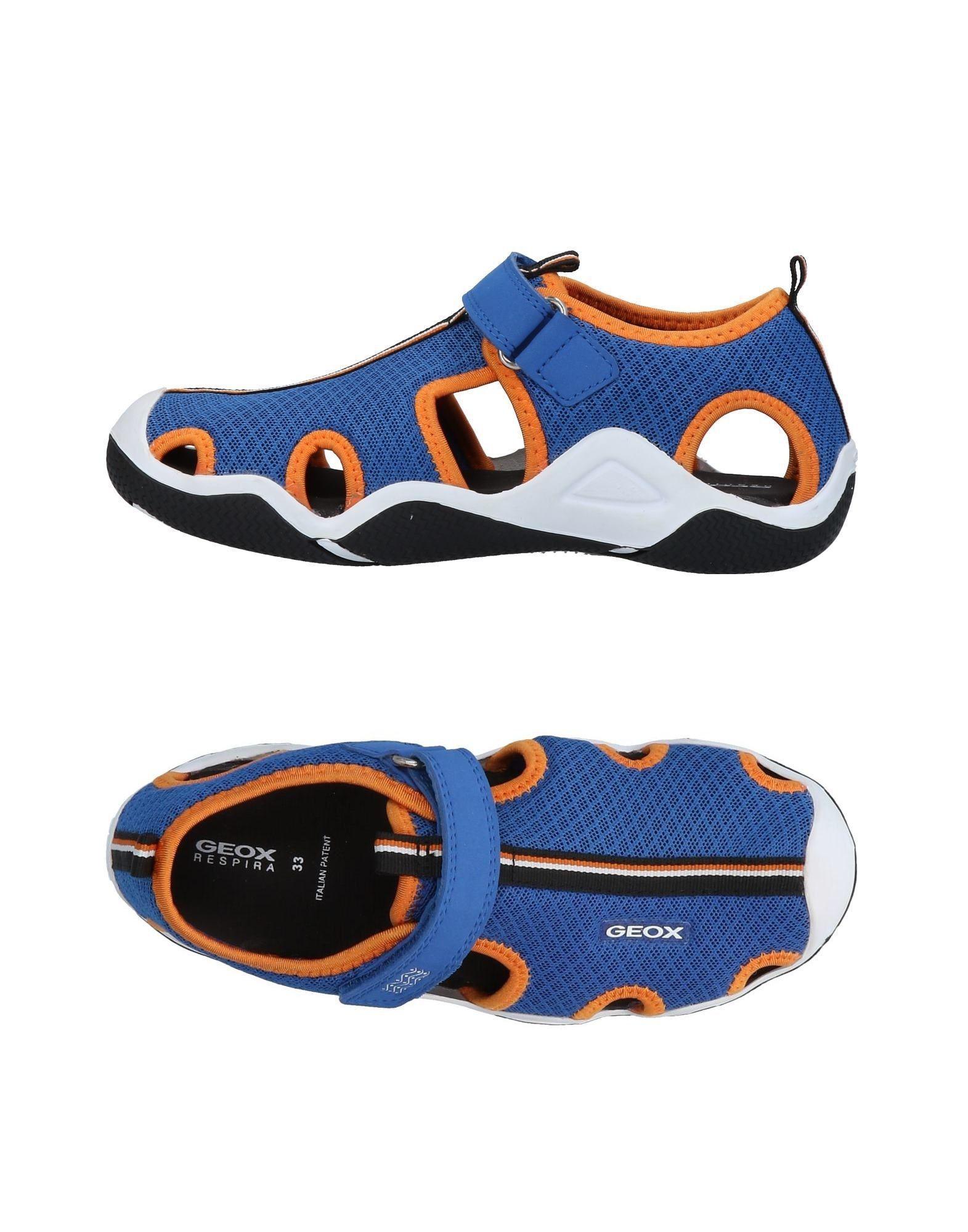 1df4b4404c0 Geox - Blue Sandals - Lyst. View fullscreen