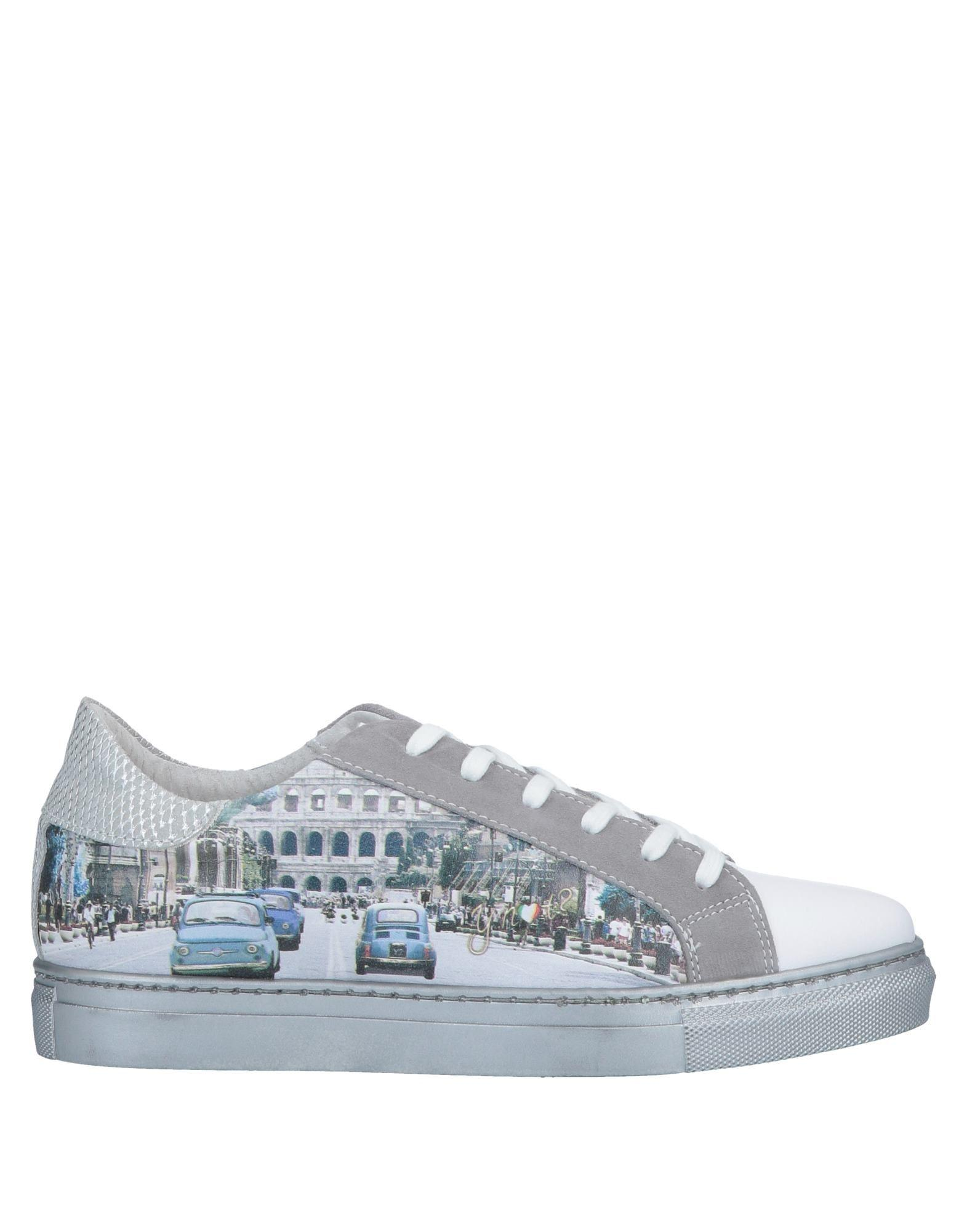 Not Y White Tops In Sneakers Low Lyst amp; 1FT8Rxx