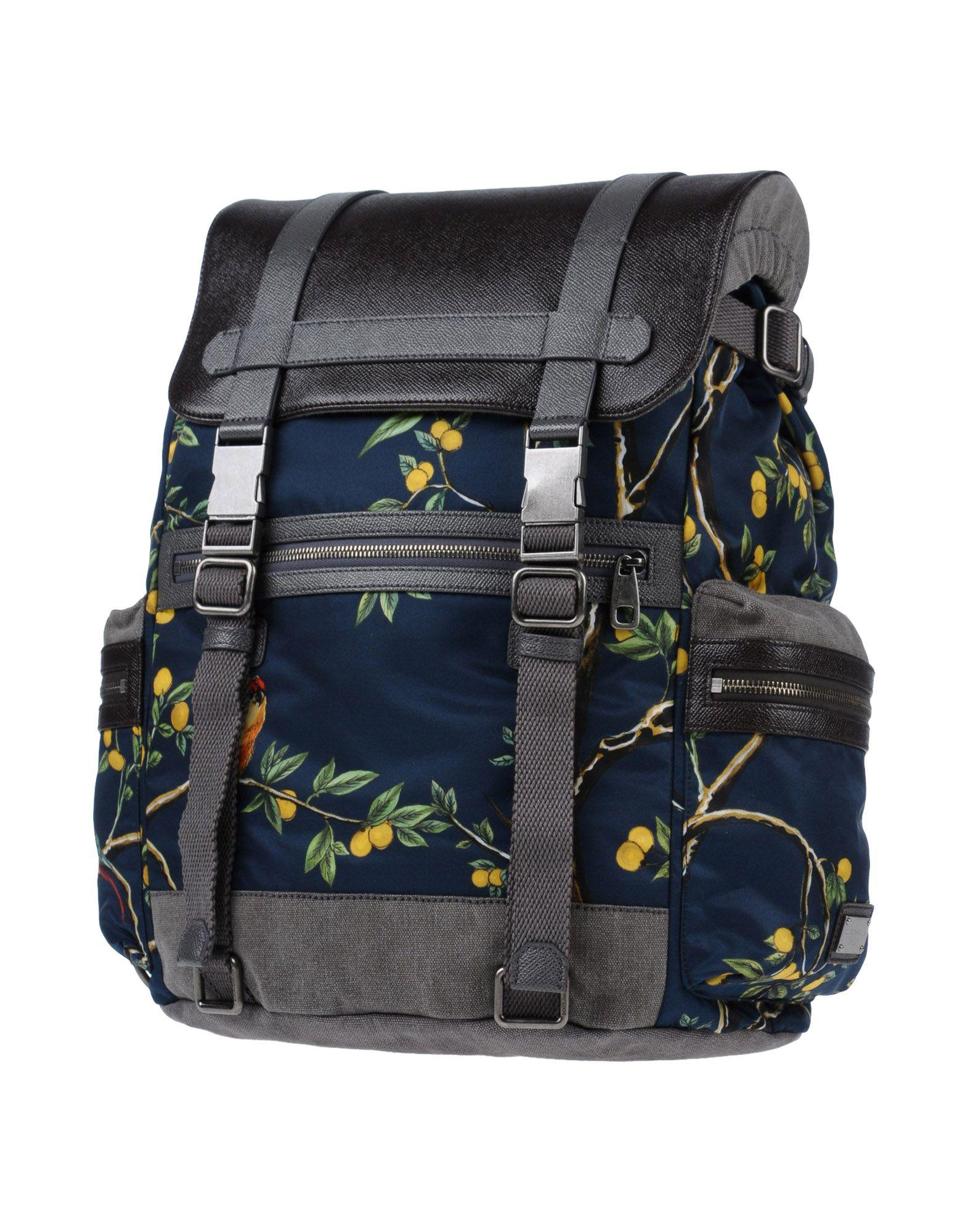 Dolce   Gabbana Backpacks   Bum Bags in Gray for Men - Lyst 5ae33ccb50