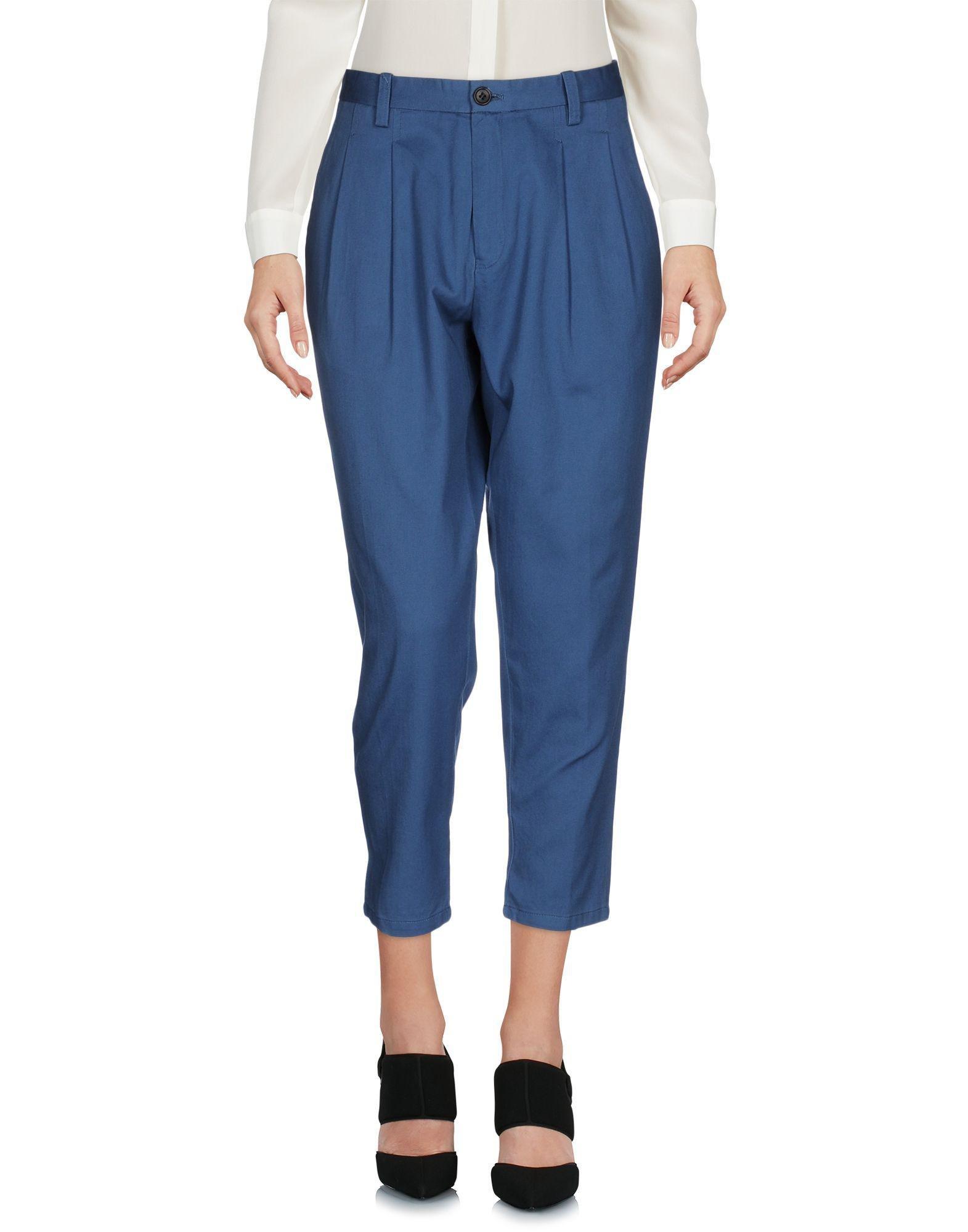 Les Pantalons - 3/4 Pantalon De Longueur Bleu Bleu Japon JJG4u