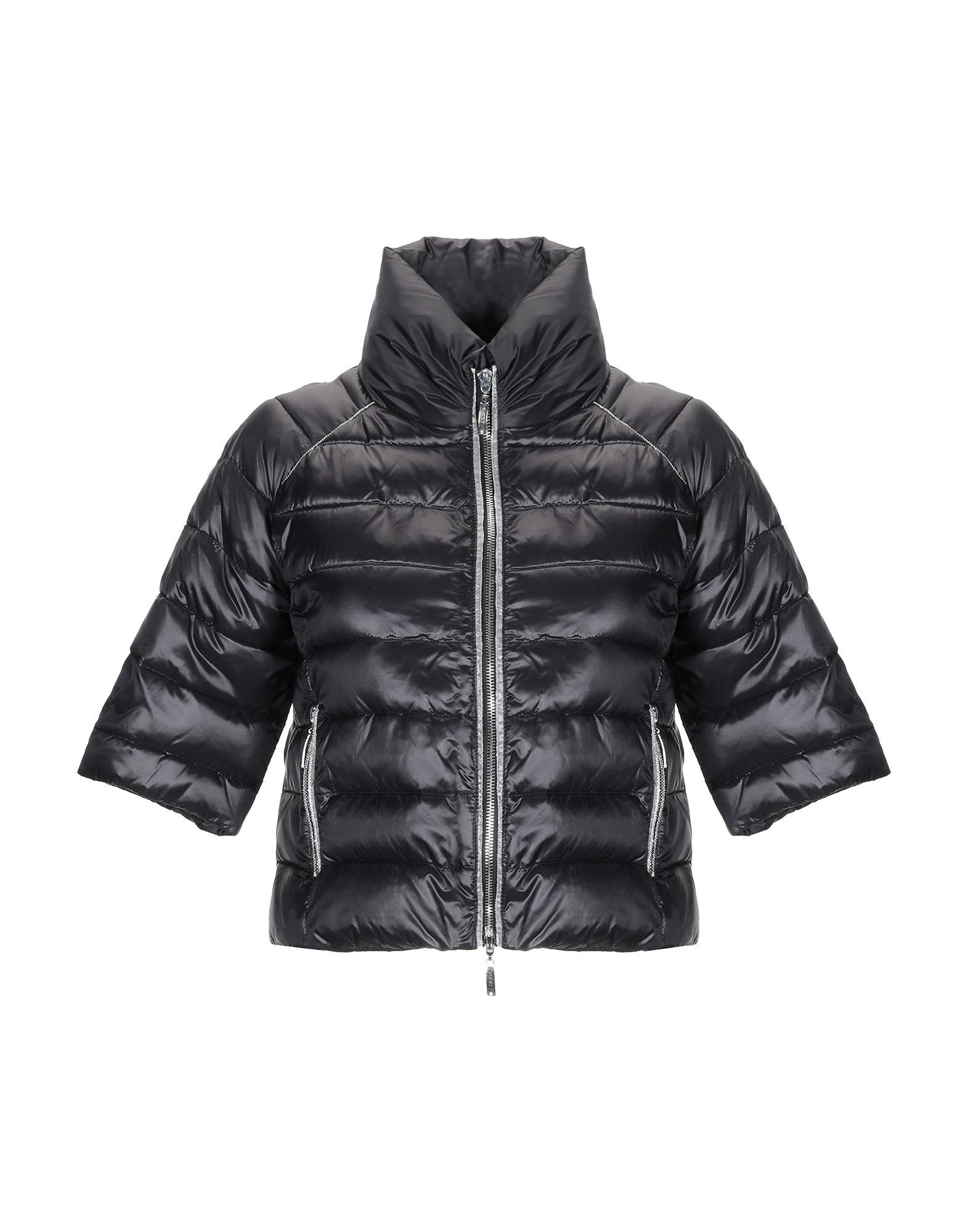 best sneakers ba3a3 9c2c1 cafenoir-Black-Synthetic-Down-Jacket.jpeg