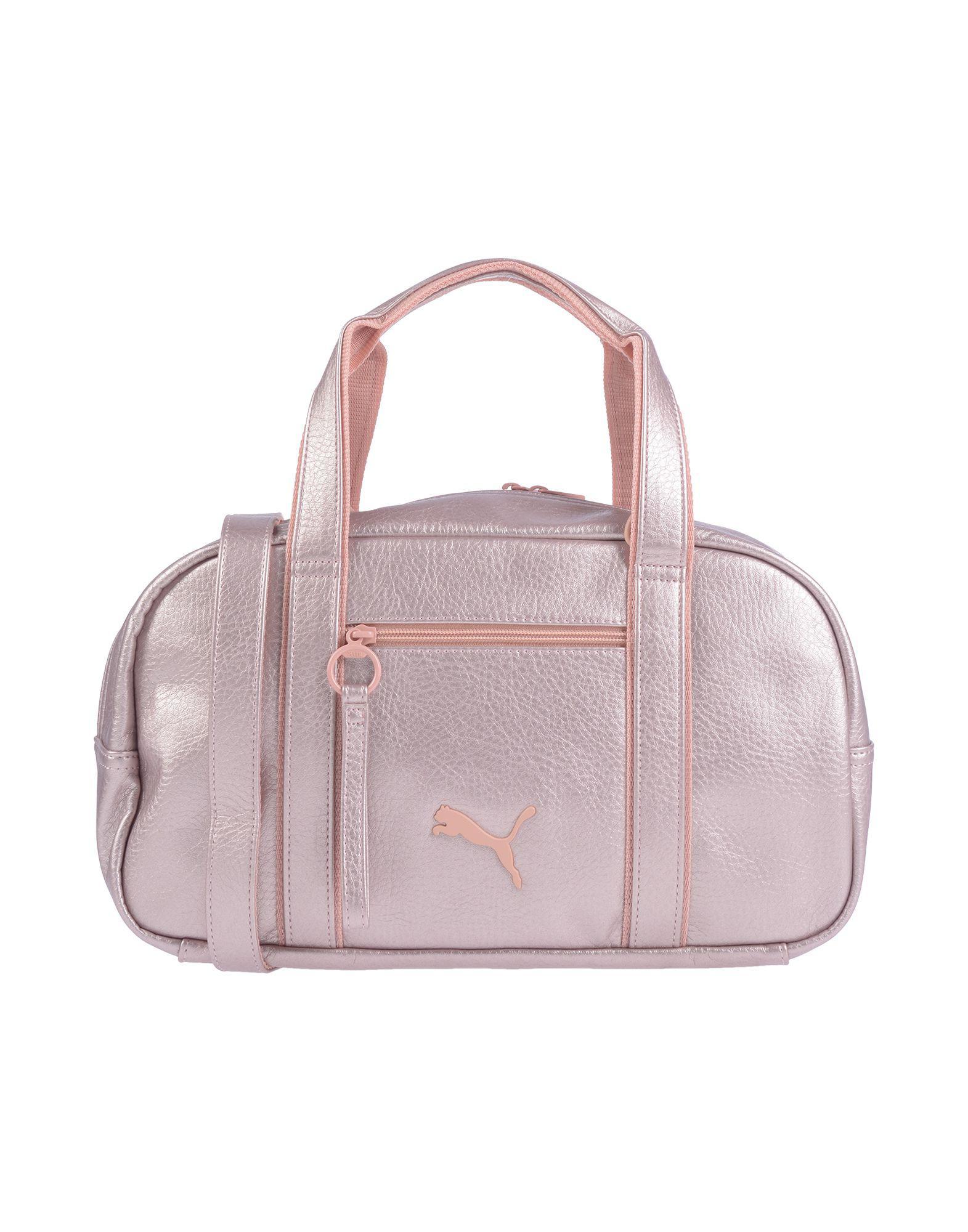 119c92304e PUMA Handbag in Pink - Lyst