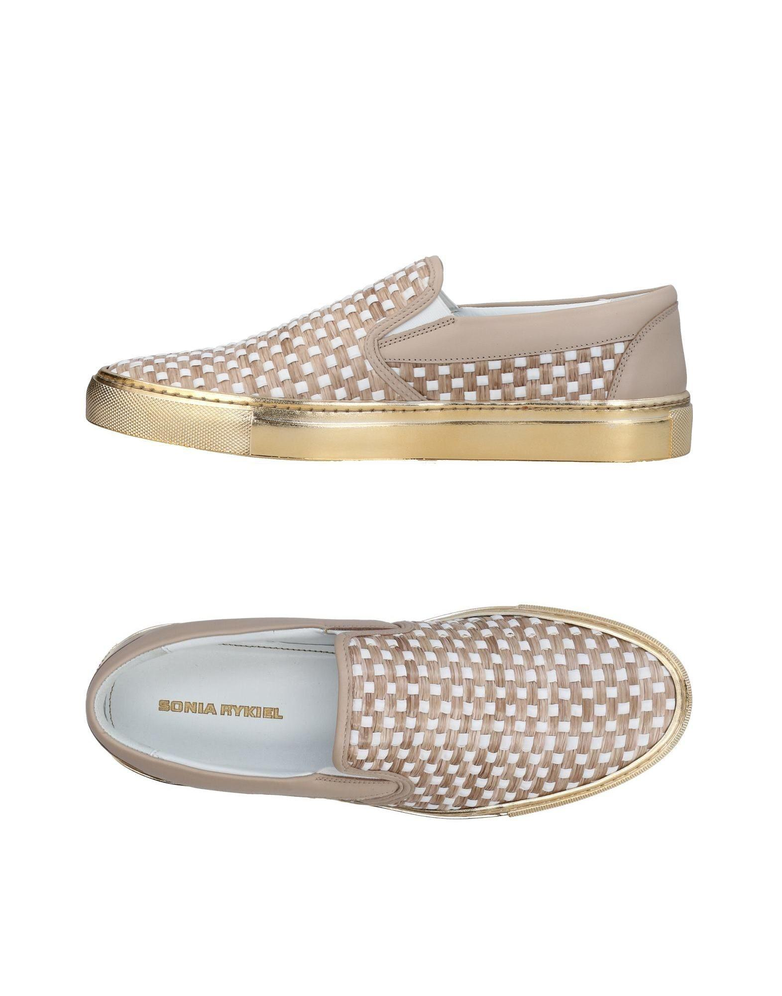 Sneakers Rykiel In amp  Tops Natural Sonia Lyst Low 5YwqX54 b17768960271