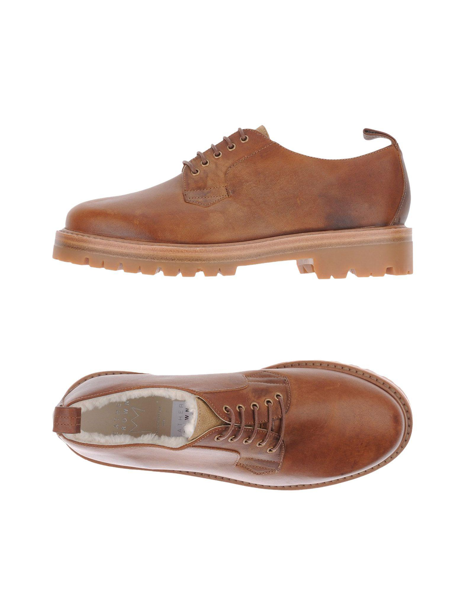 FOOTWEAR - Lace-up shoes Leather Crown uQNepJb1