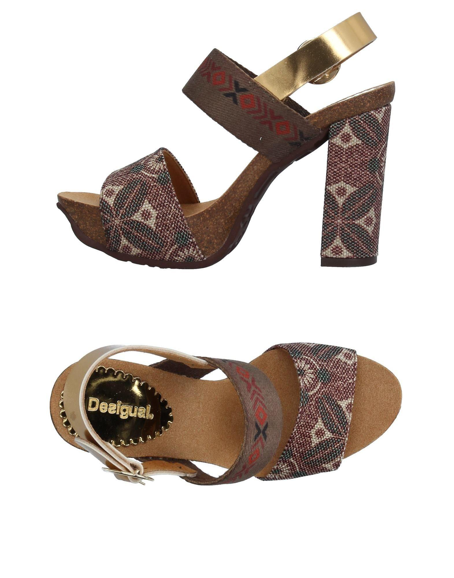 Desigual Brown In Sandals Lyst Mpgquvzs 0kXZNwO8nP