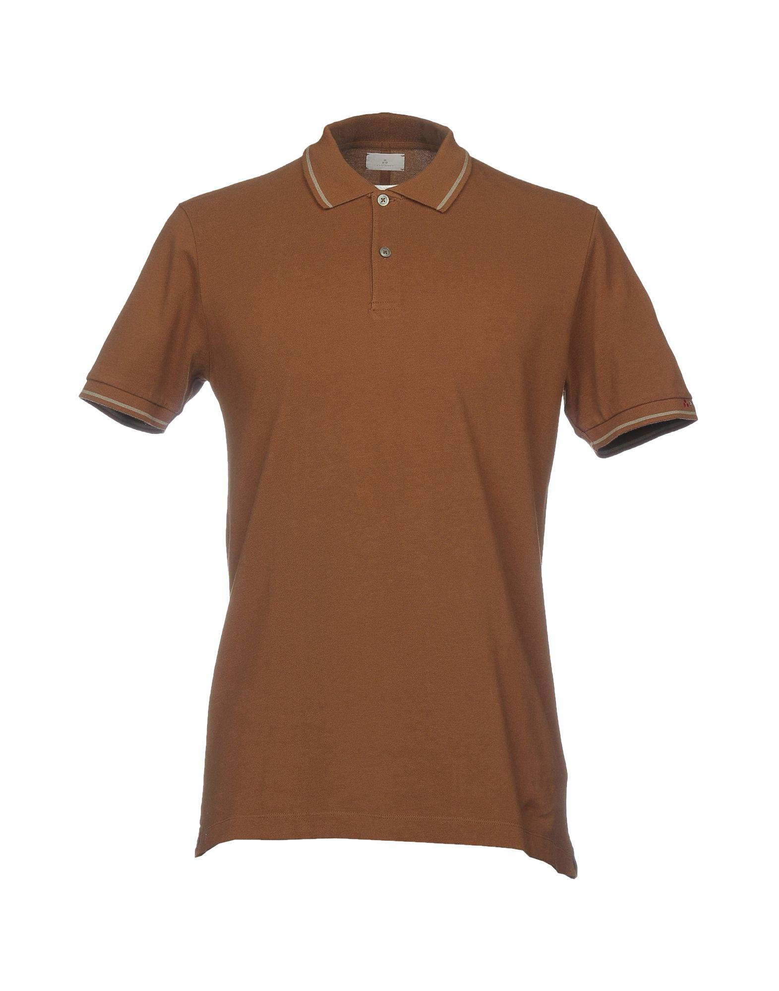 Lyst Peuterey Polo Shirts In Brown For Men