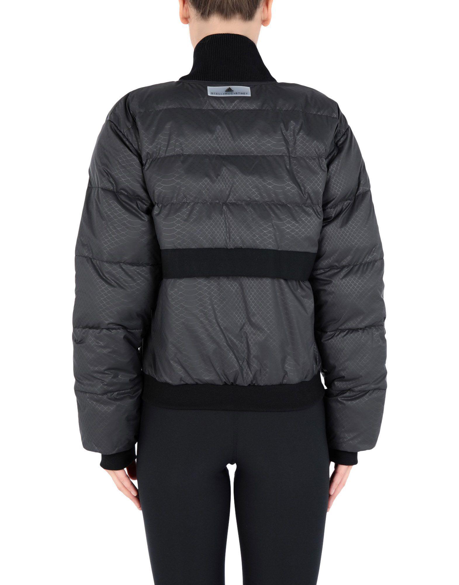 23f1f8bb9c16 Lyst - adidas By Stella McCartney Synthetic Down Jacket in Black