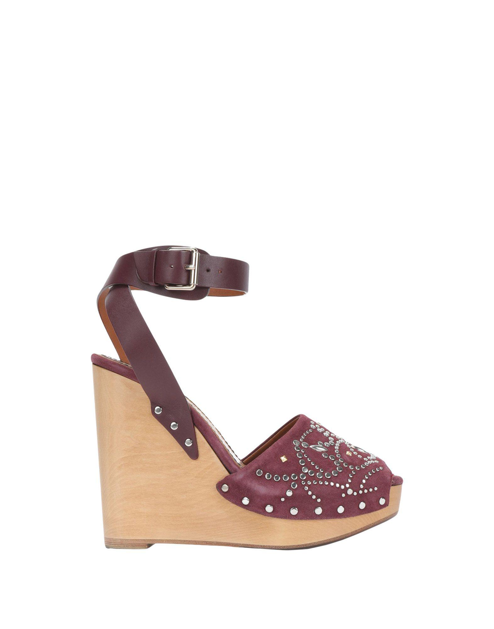 2d18a222ba8d Valentino Sandals in Purple - Lyst