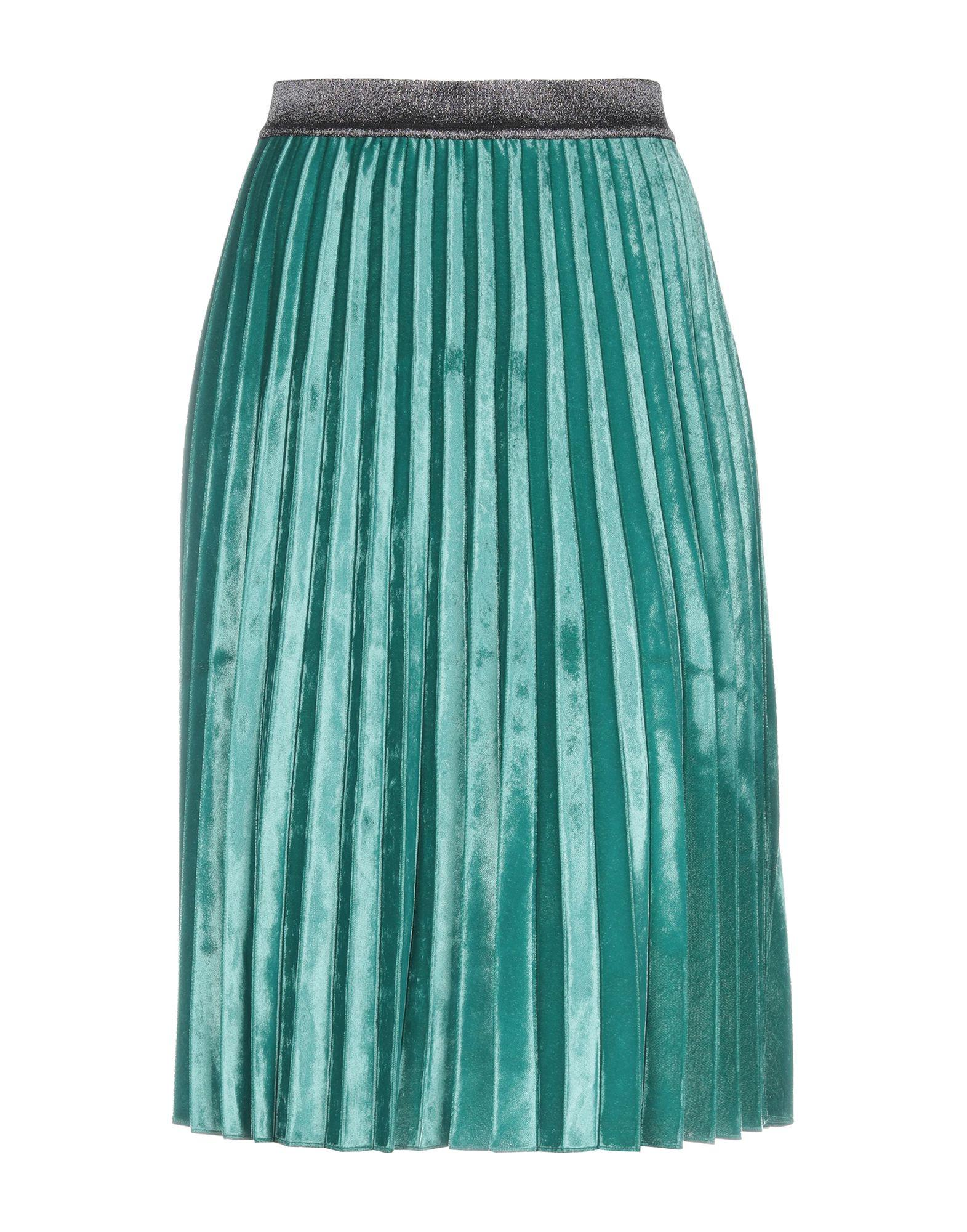 943aad8293 Pinko 3 4 Length Skirts in Green - Lyst