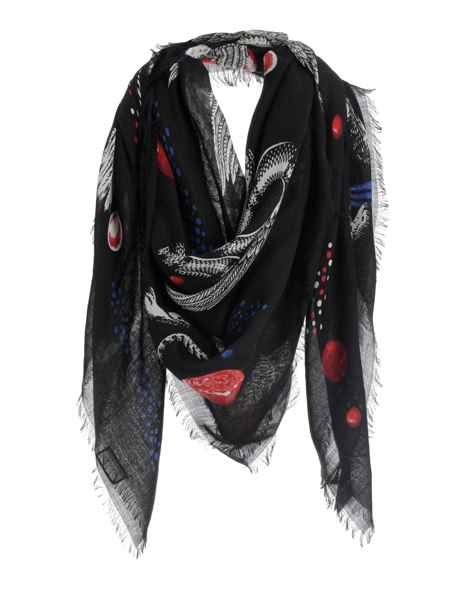 5ecbbed0b70 Lyst - Gucci Square Scarf in Black for Men