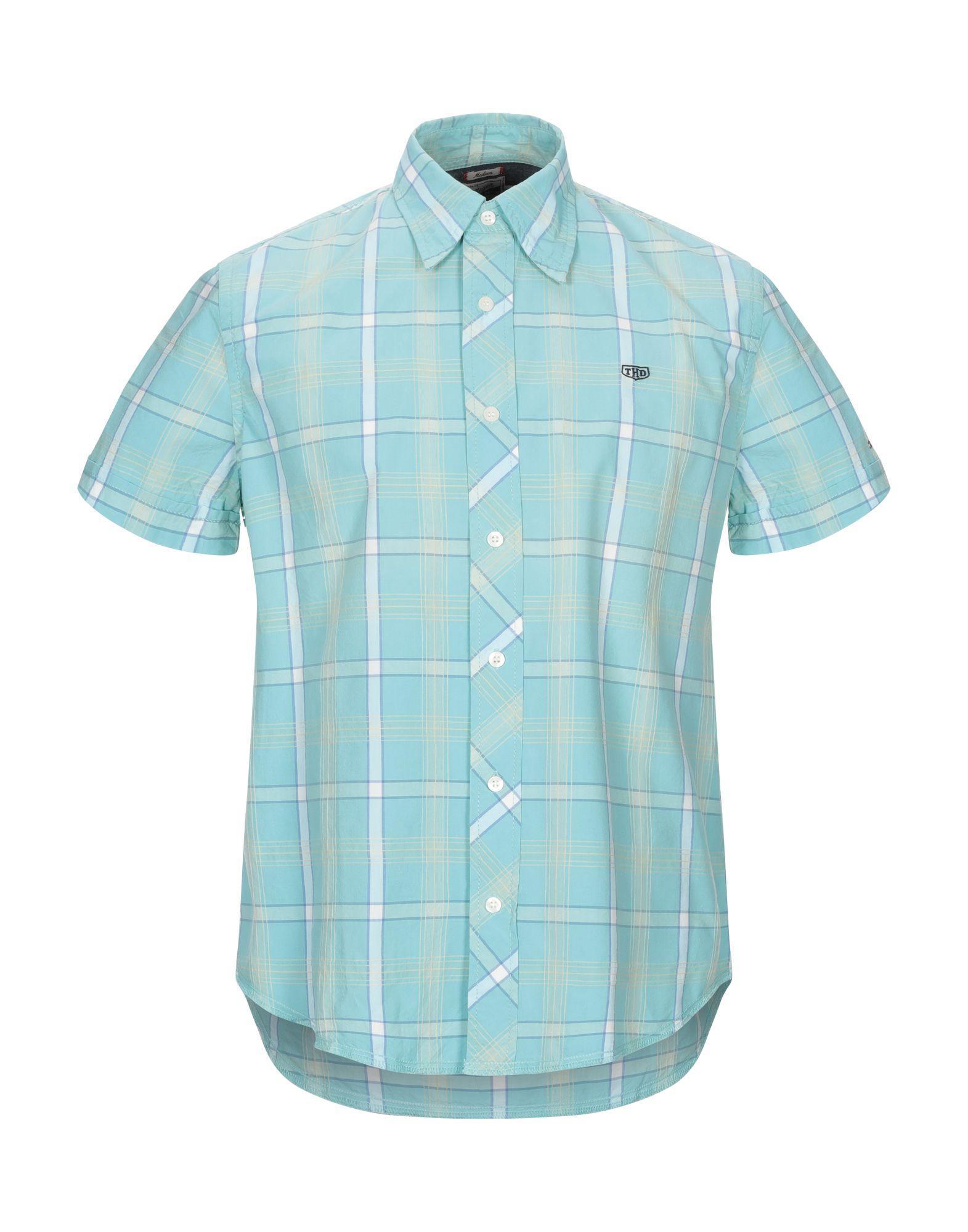 39928b08 Lyst - Tommy Hilfiger Shirt in Blue for Men