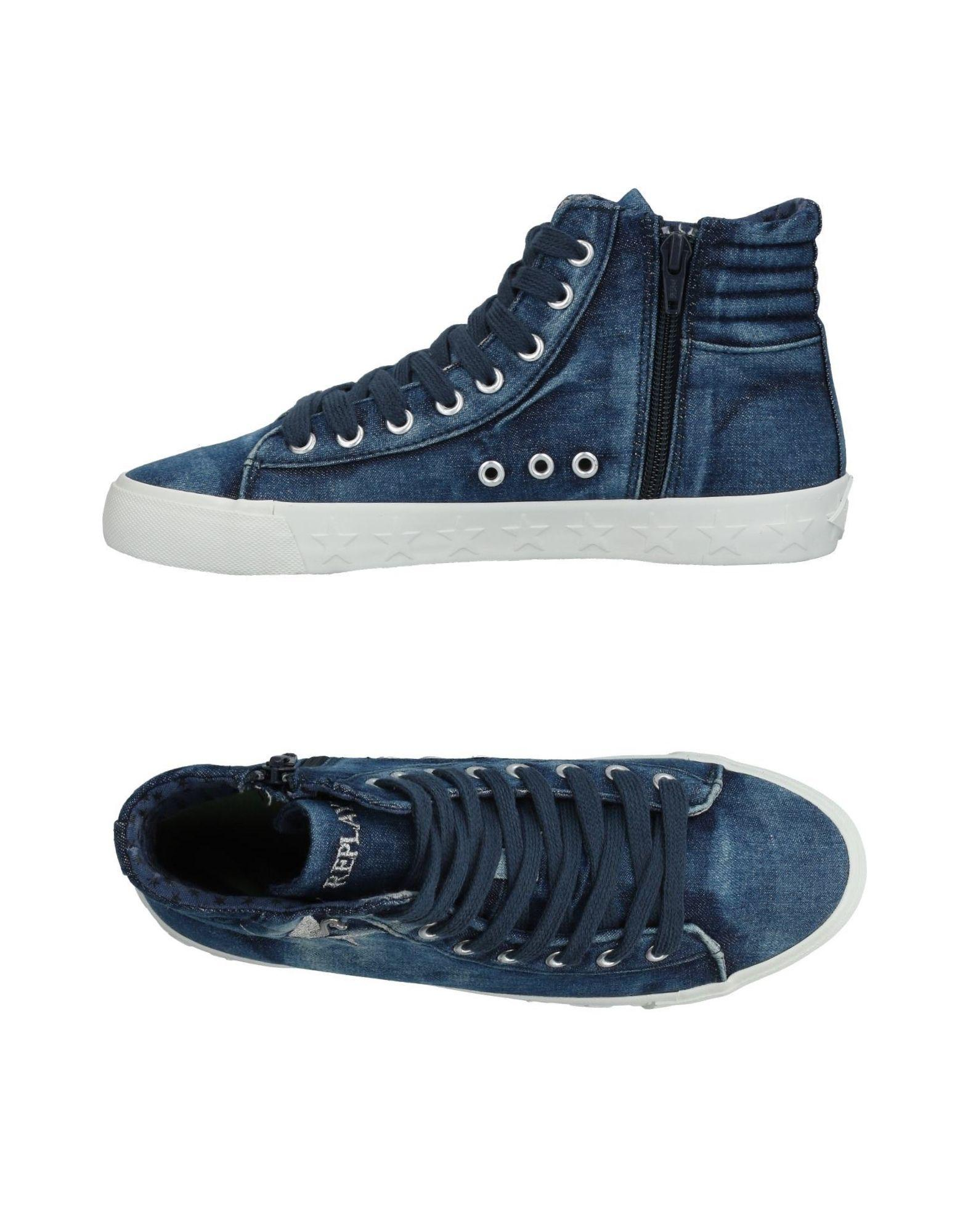 FOOTWEAR - High-tops & sneakers Replay Discount Real Free Shipping Low Shipping Fee Manchester Great Sale Cheap Price TQ3ThoAi9