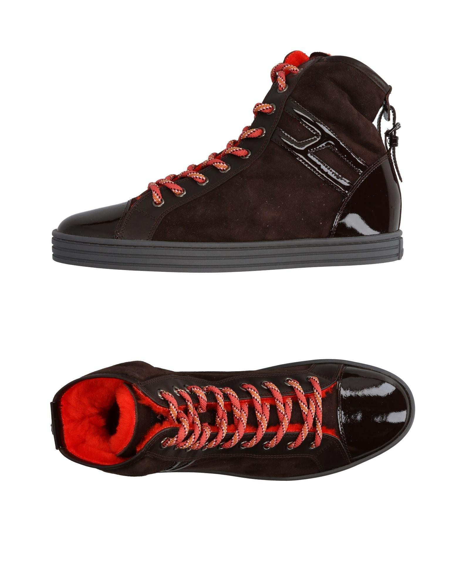 cae43ec5003 Lyst - Hogan Rebel High-tops   Sneakers in Brown for Men