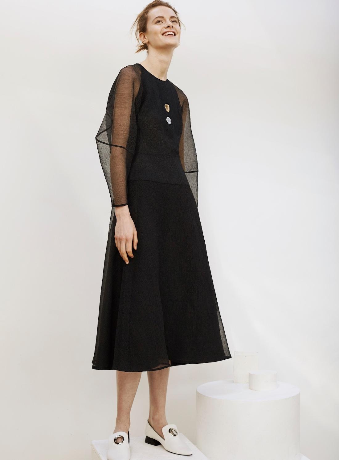 Rejina Pyo Black Exclusive Edition Elliot Dress In Black