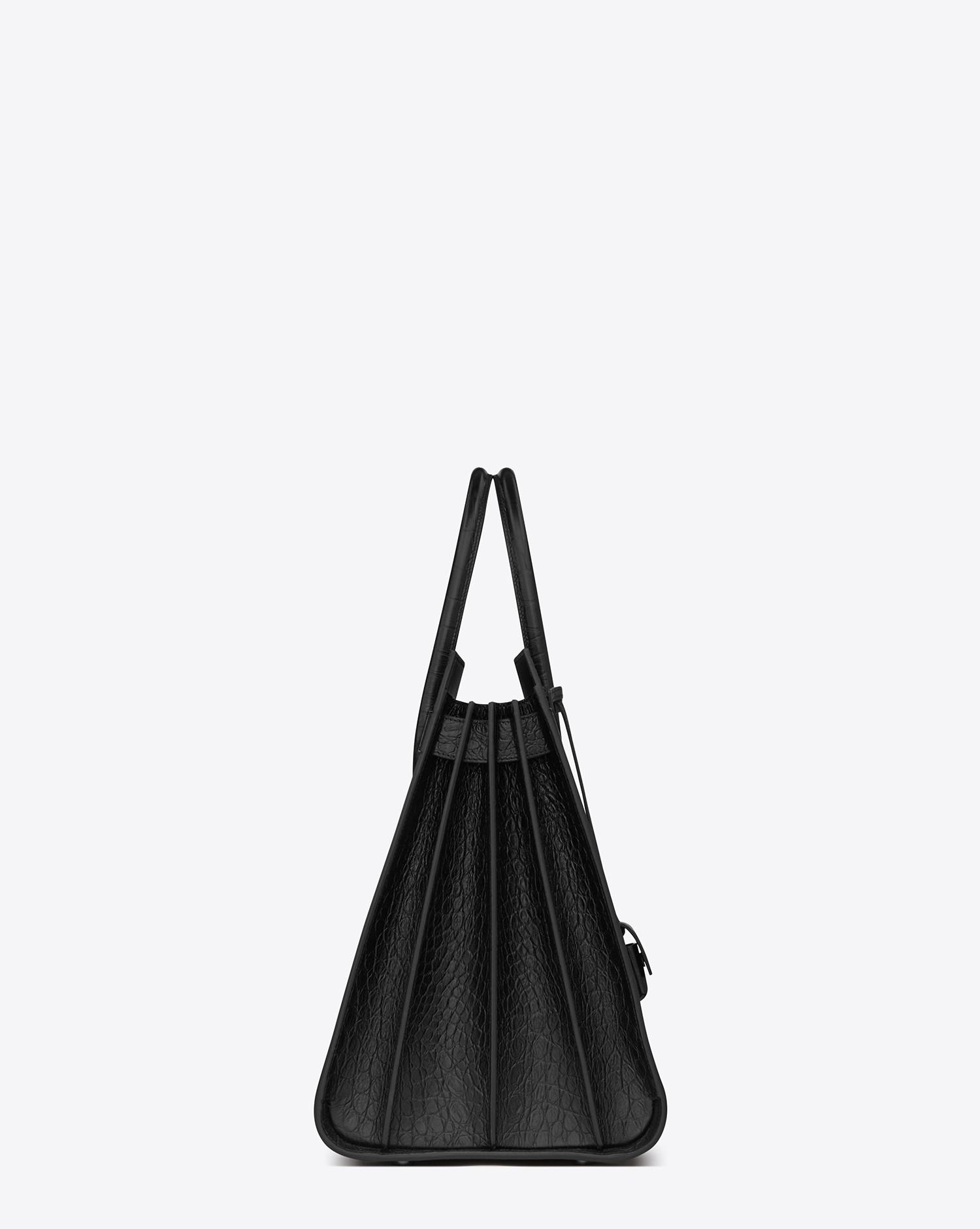 41899cef8fc Lyst - Saint Laurent Large Sac De Jour Carry All Bag In Black ...