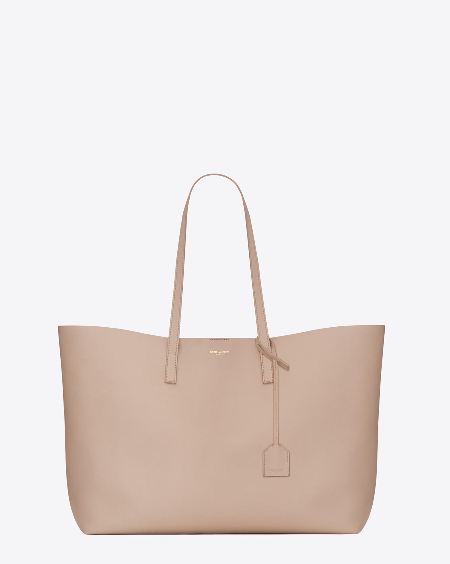 9ff0f60cb2e0 Lyst - Saint Laurent Large Shopping Tote Bag In Pale Blush .