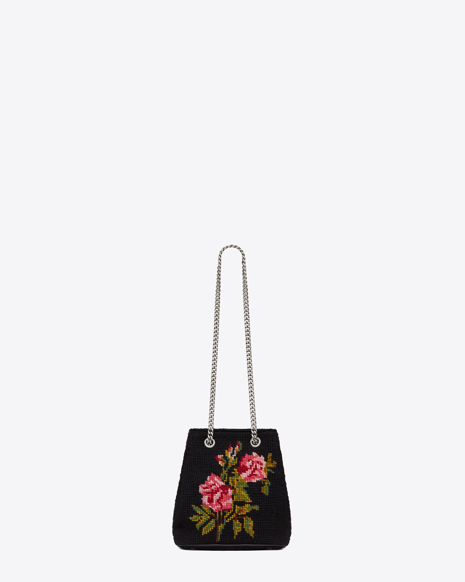aa4daf55c52c Gallery. Women s Bag Charms Women s Saint Laurent Emmanuelle Women s Floral  ...