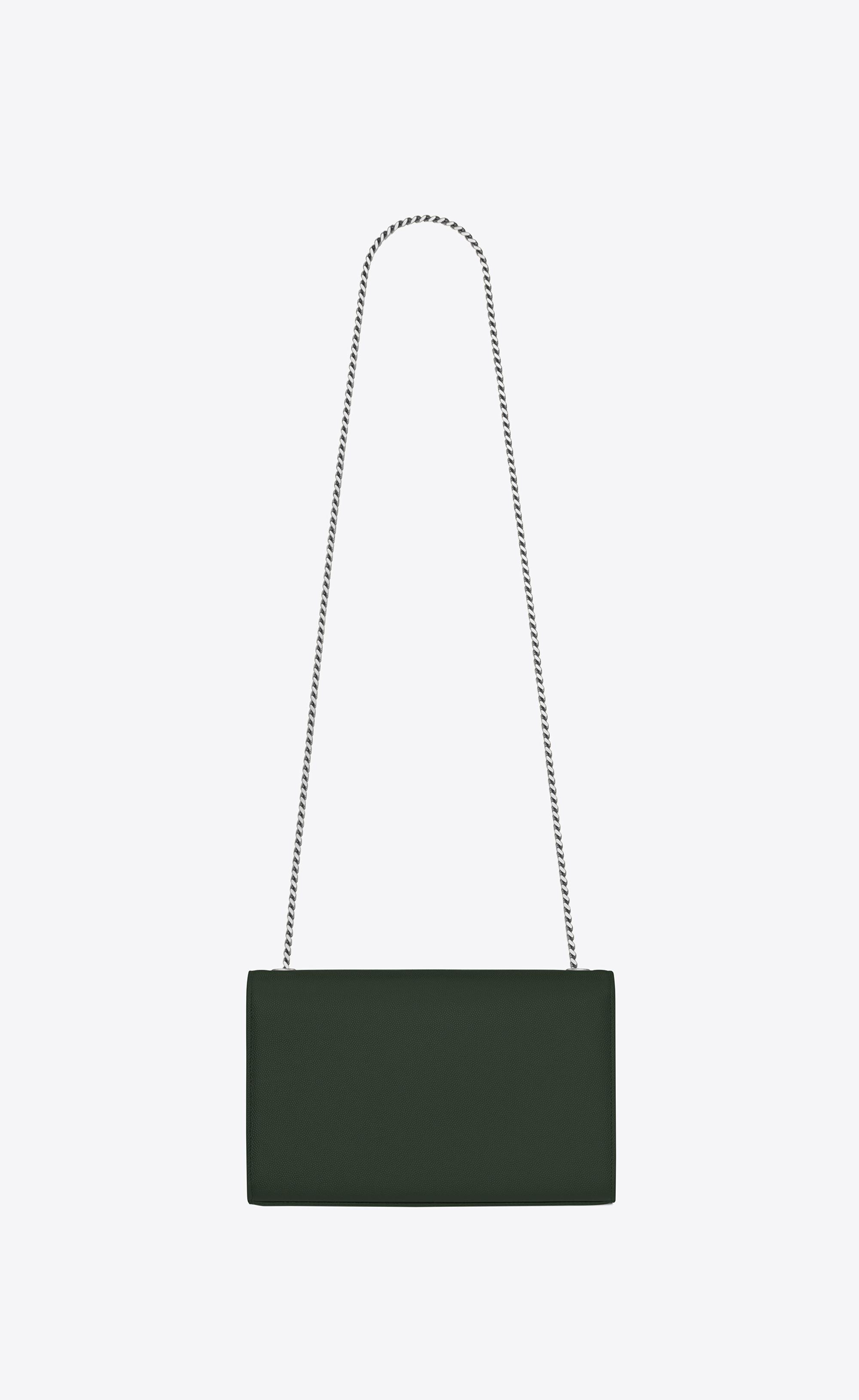 ea1acadd070 Saint Laurent Kate Medium In Grain De Poudre Embossed Leather in ...