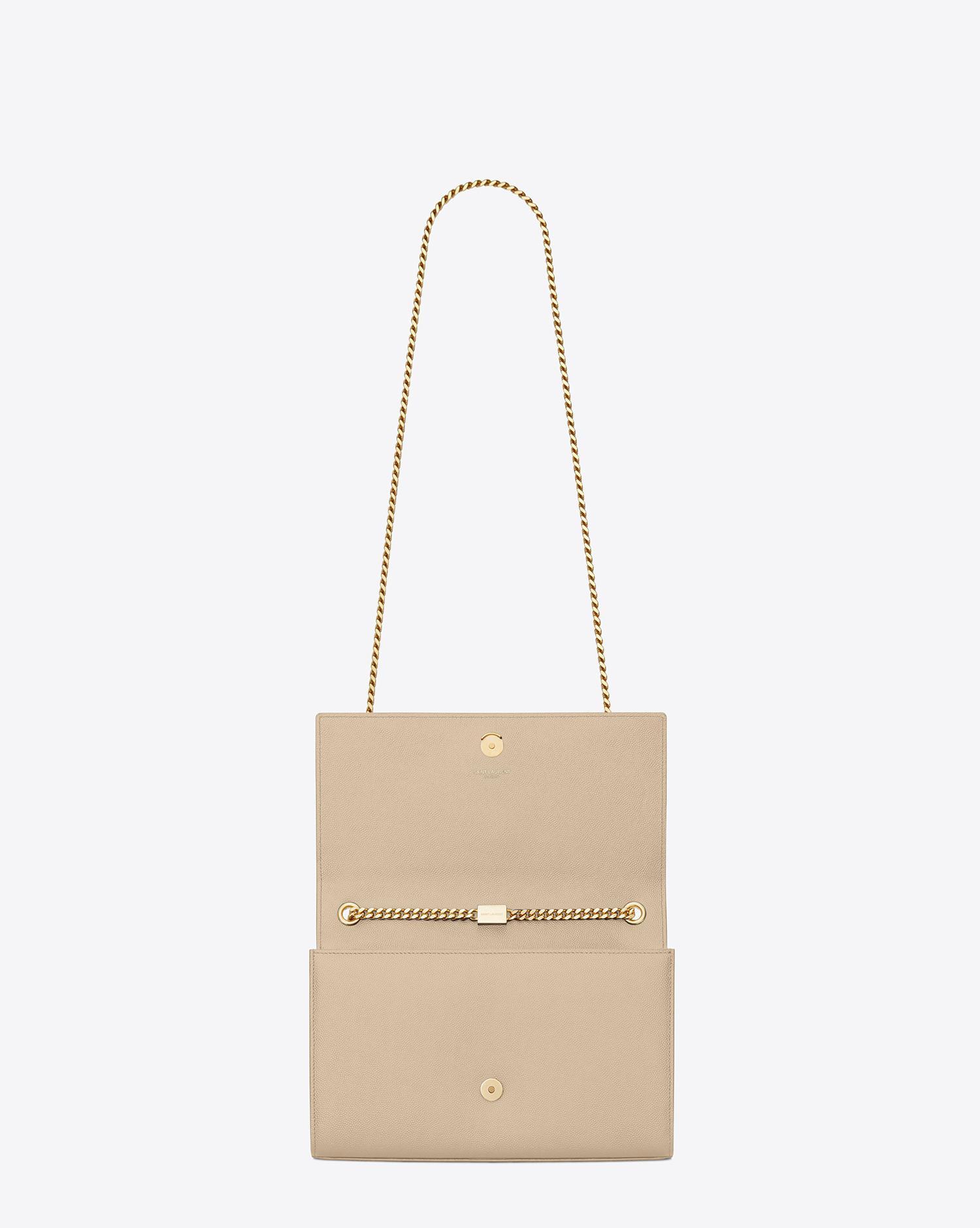 399593014d2d Saint Laurent Classic Medium Monogram Satchel In Powder Grain De Poudre  Textured Leather - Save 2% - Lyst