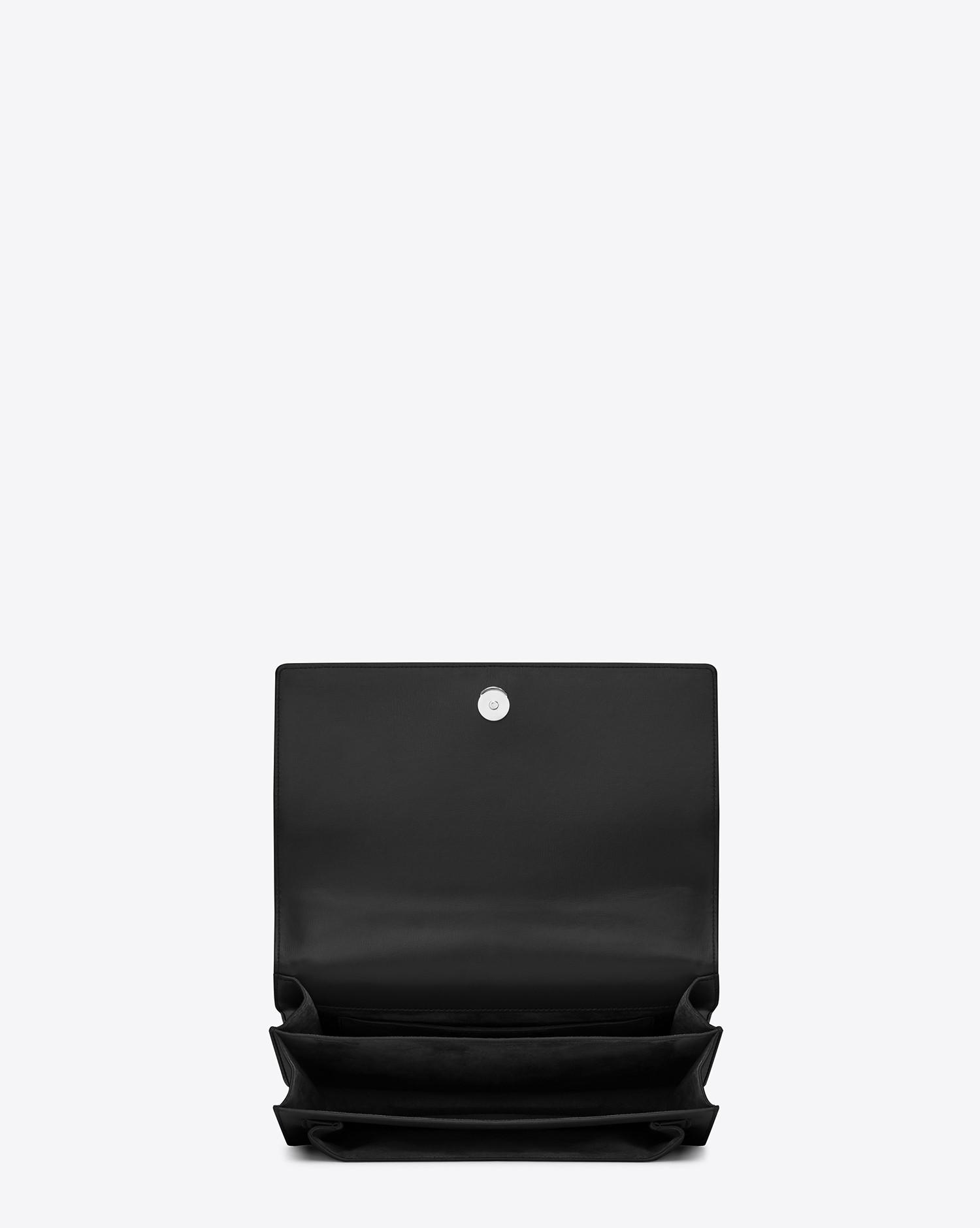 c614f60394 Lyst - Saint Laurent Sunset in Black - Save 4%