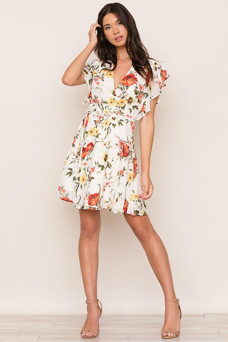 c9b9f72d076 Lyst - Yumi Kim Sydney Dress in White